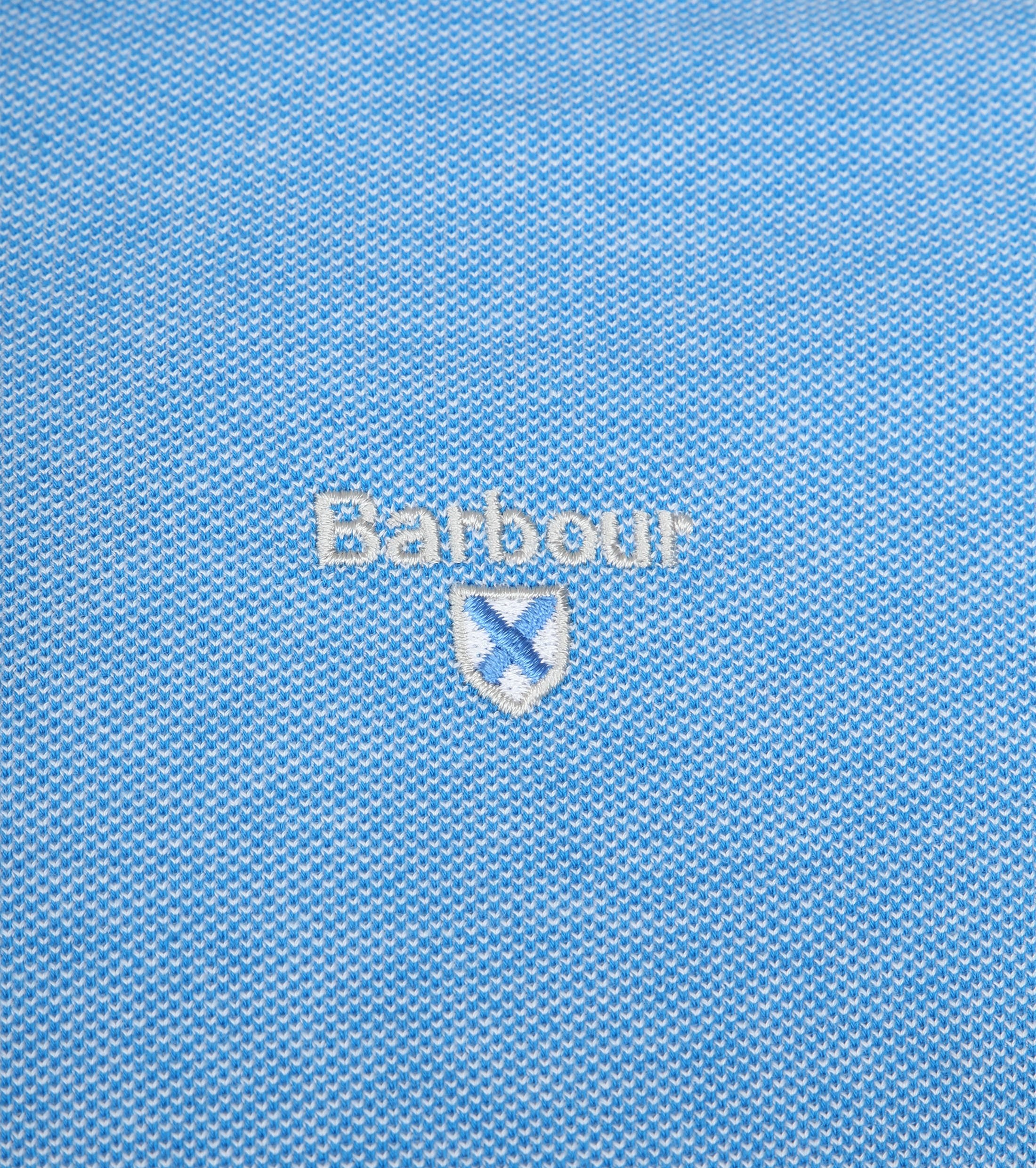 Barbour Polo French Blue foto 2