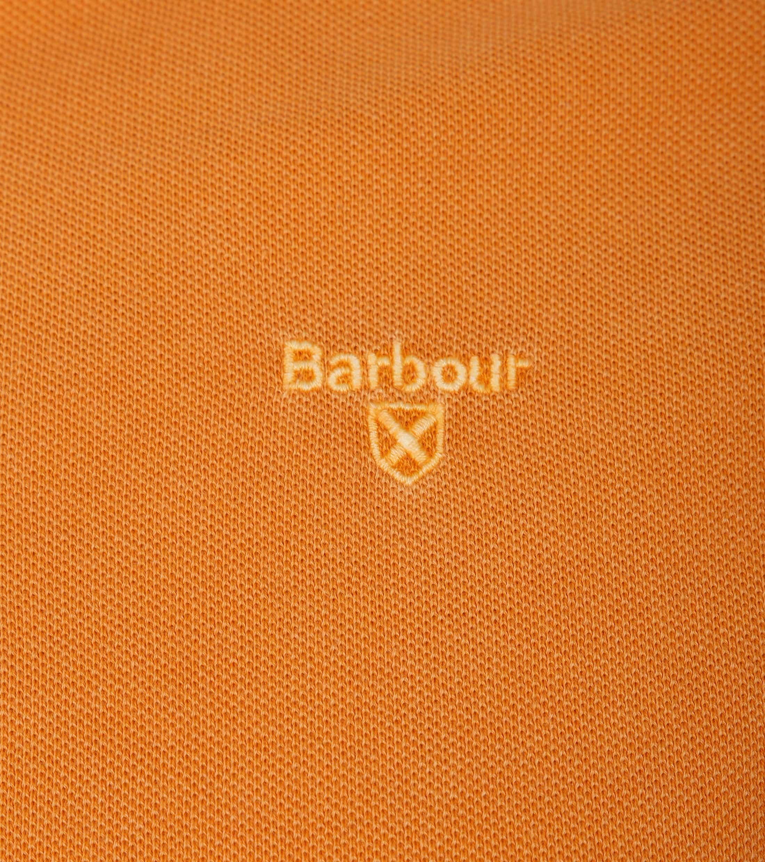 Barbour Poloshirt Orange Wash foto 1