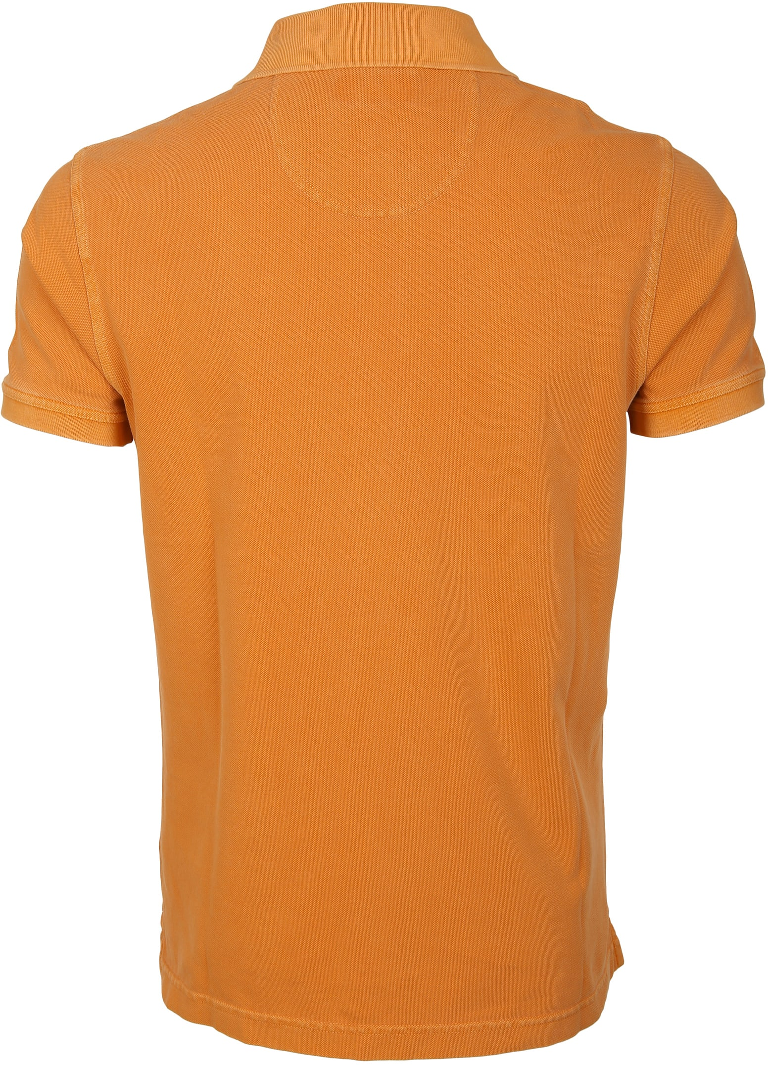 Barbour Poloshirt Orange Wash foto 2
