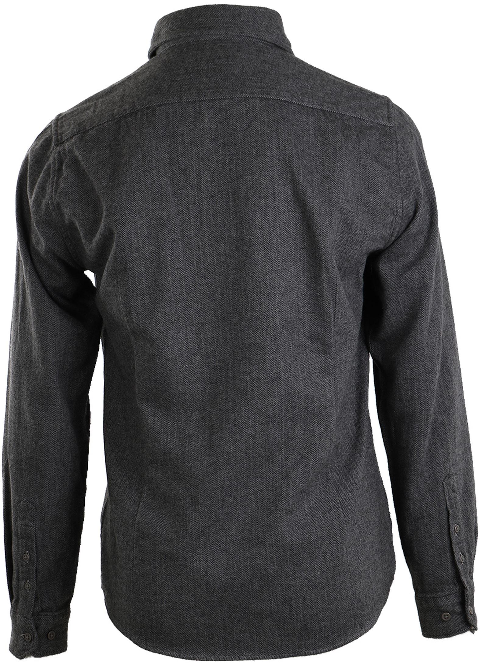 Barbour Port Shirt Antraciet foto 1