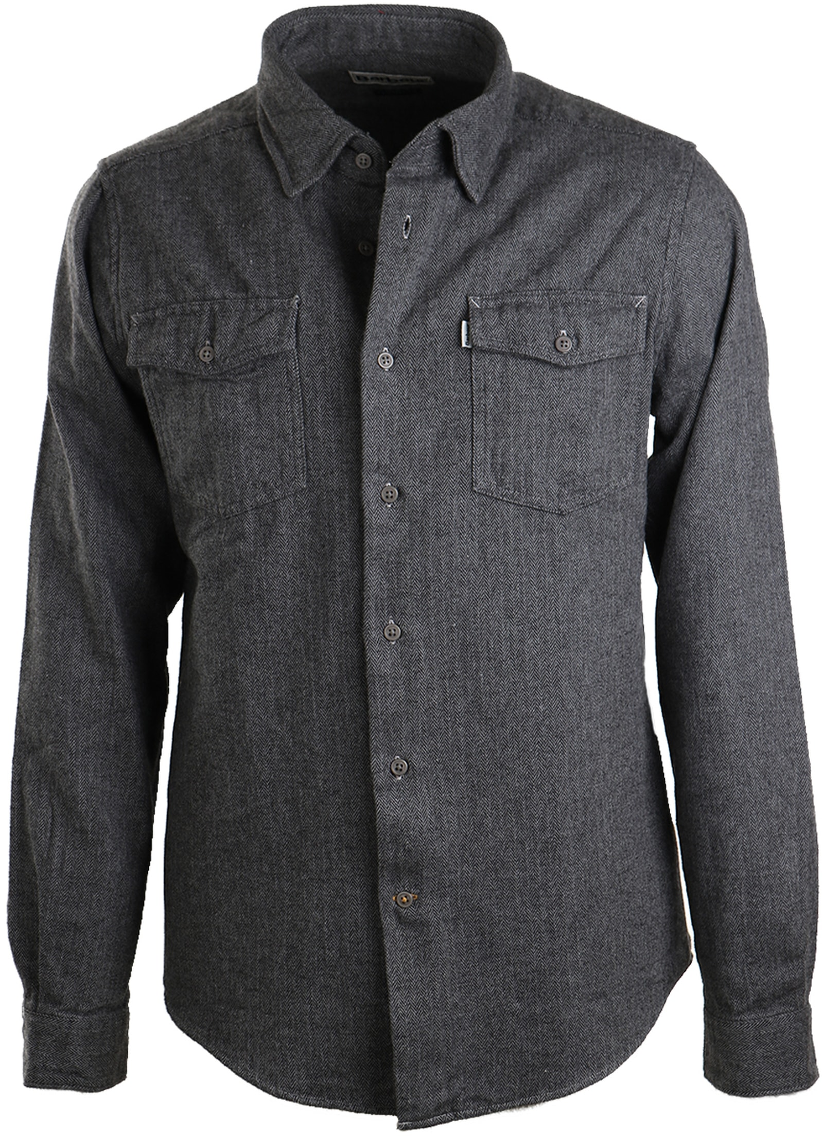Barbour Port Shirt Antraciet foto 0
