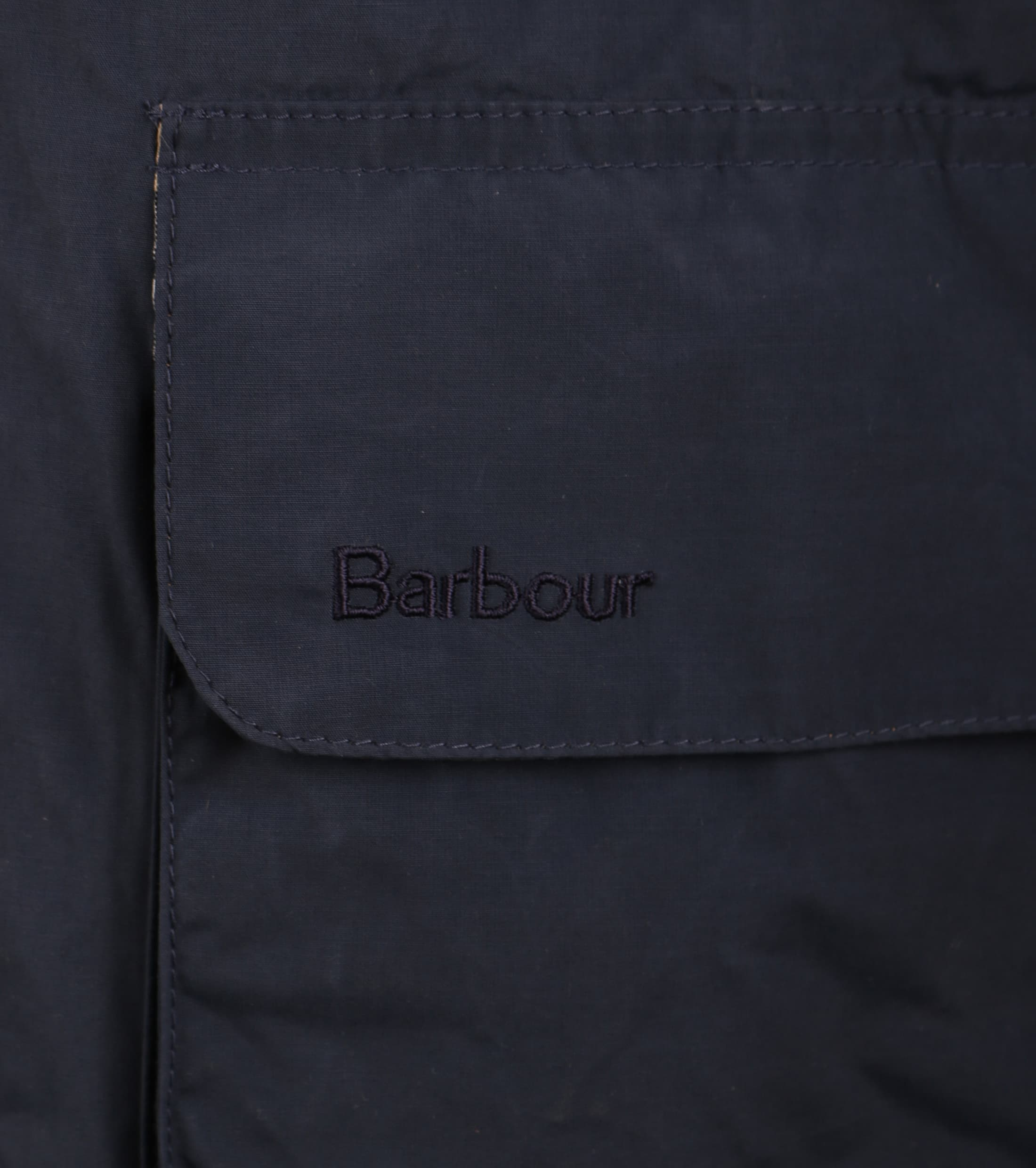 Barbour Port Zomerjas Donkerblauw foto 5