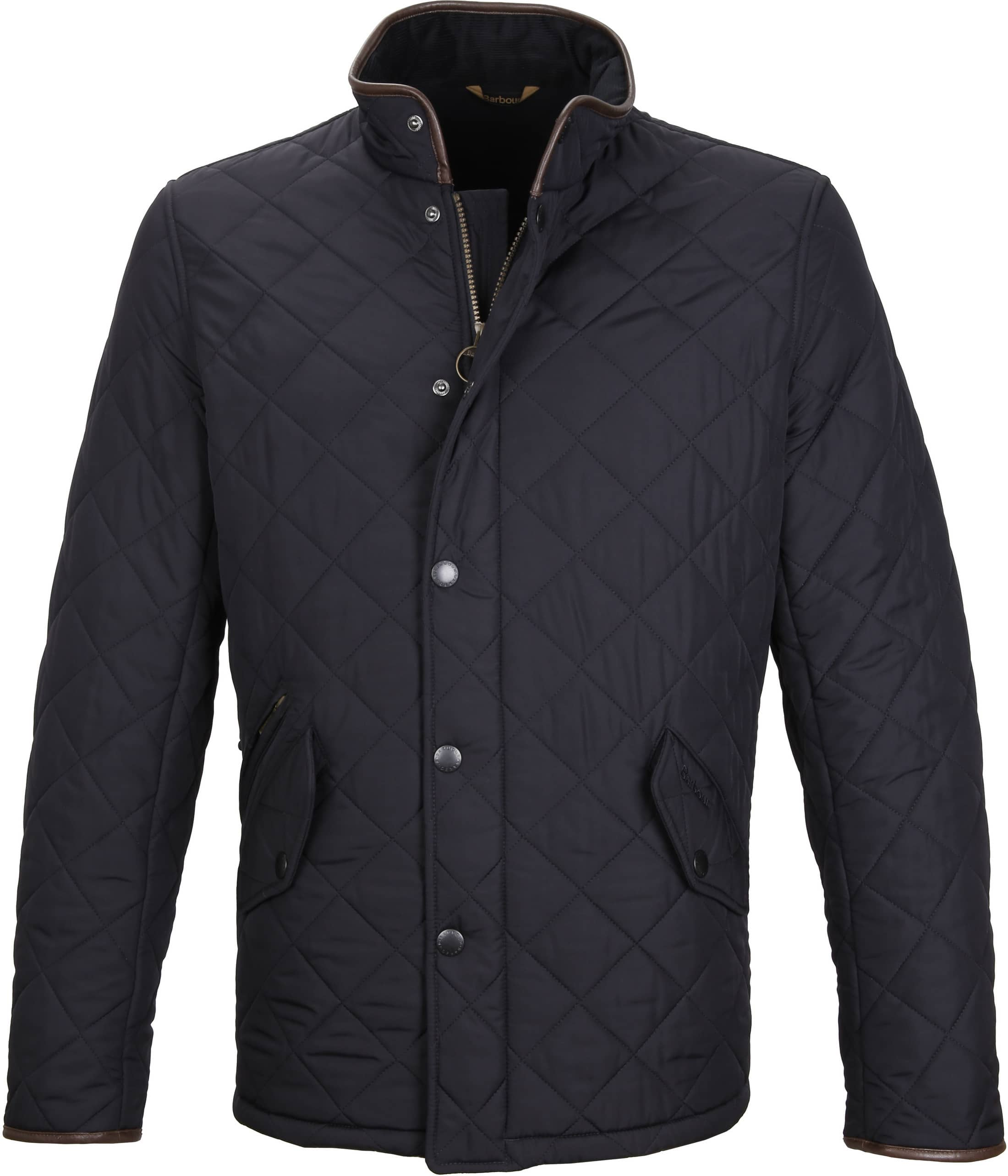 Barbour Powell Jack Navy foto 0
