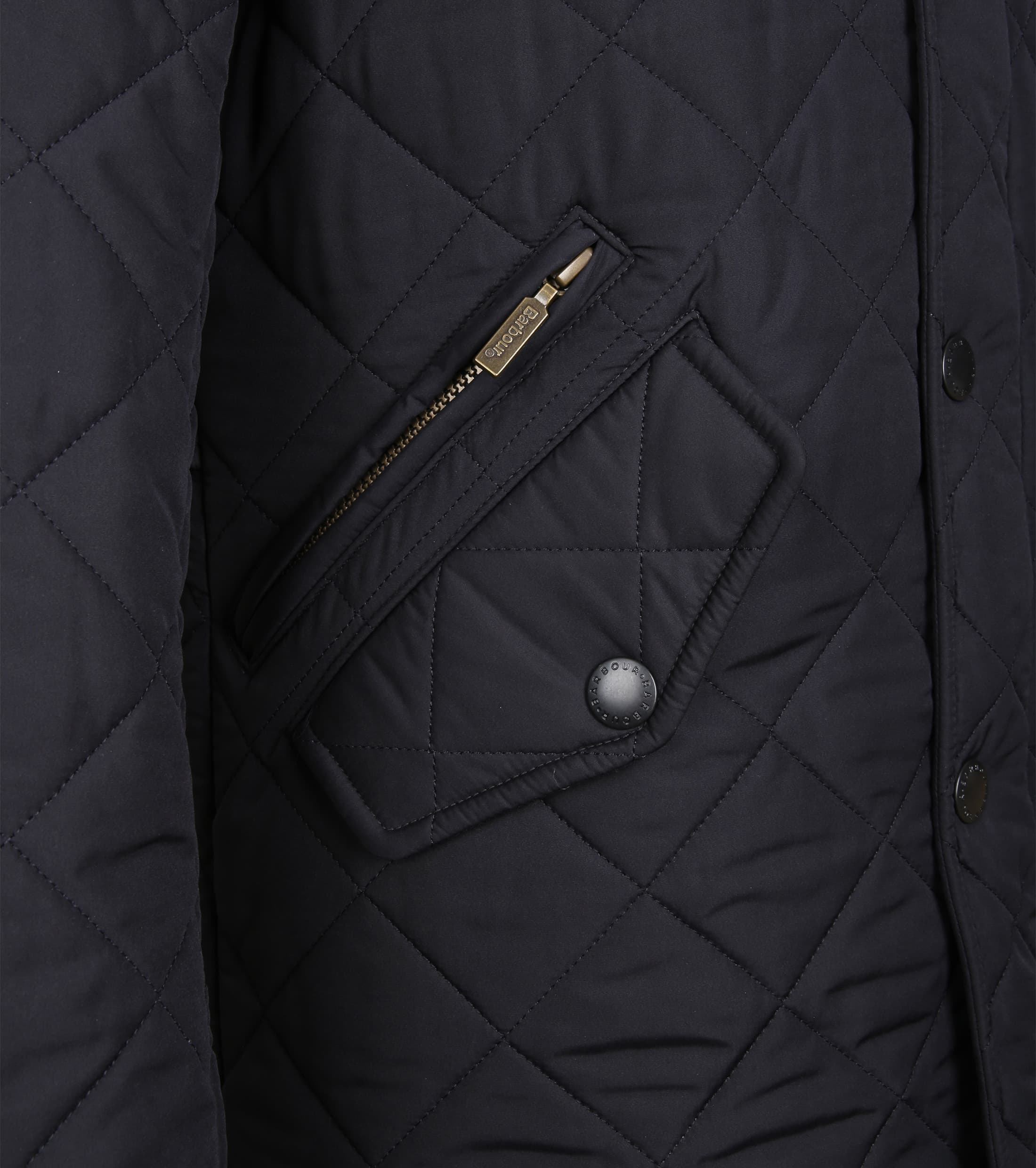 Barbour Powell Jack Navy foto 3