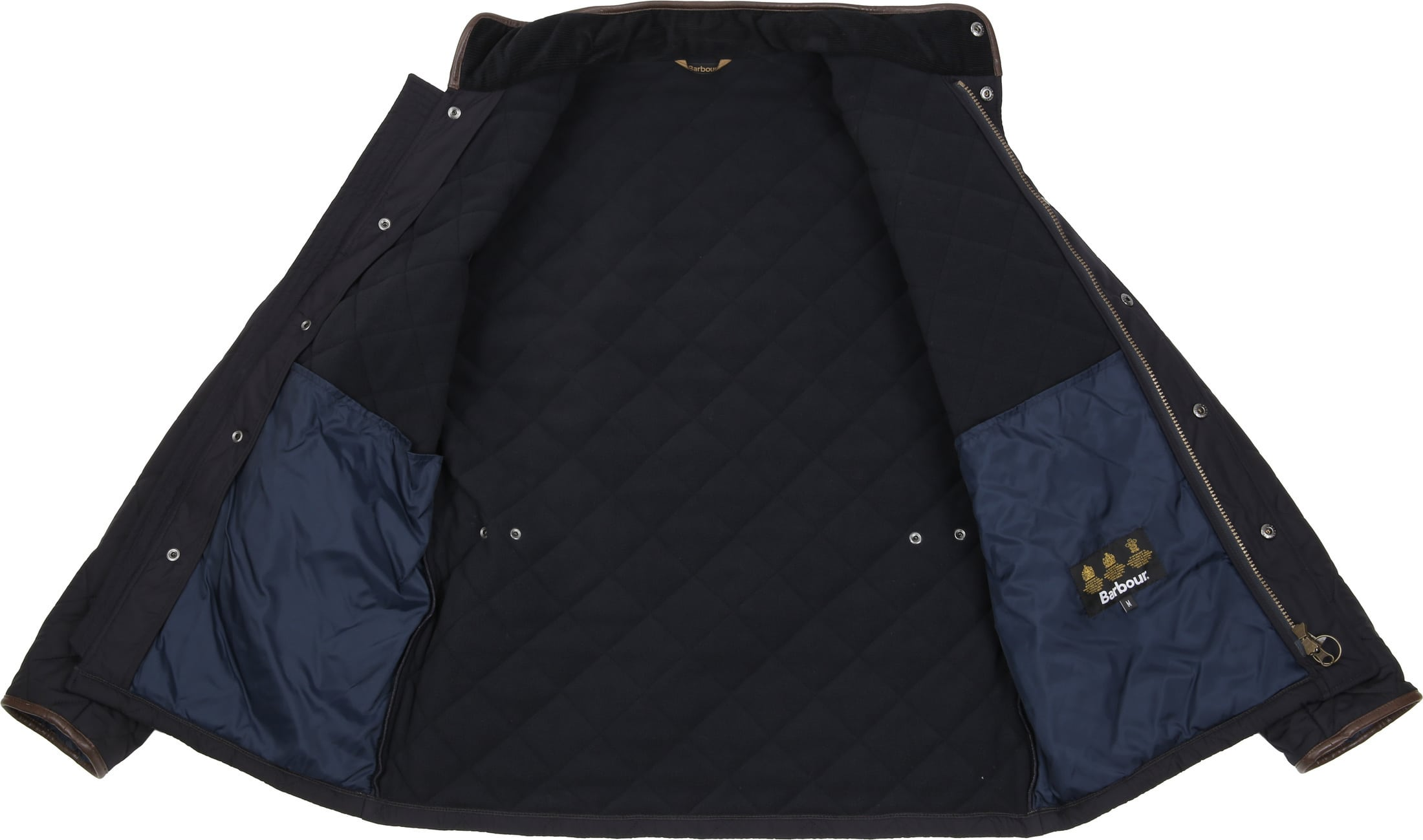 Barbour Powell Jack Navy foto 6
