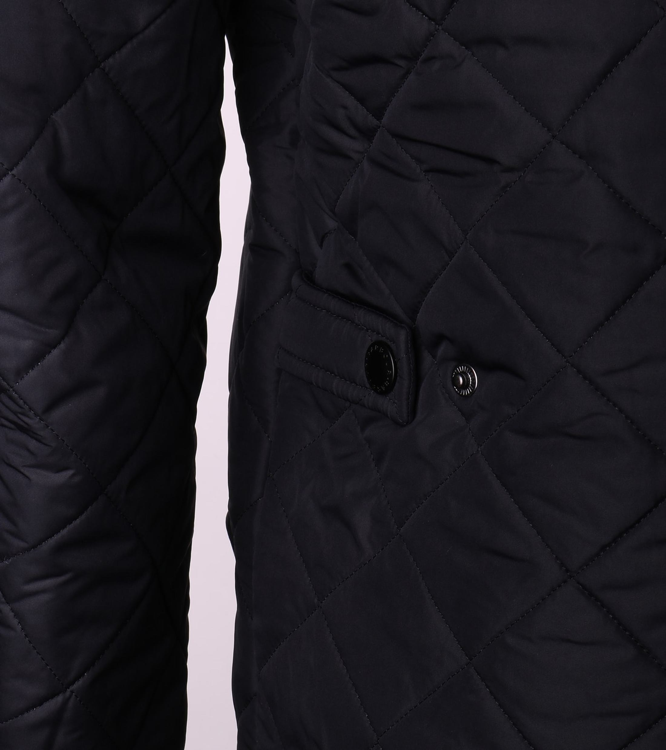 Barbour Quilted Jas Powell Navy foto 2