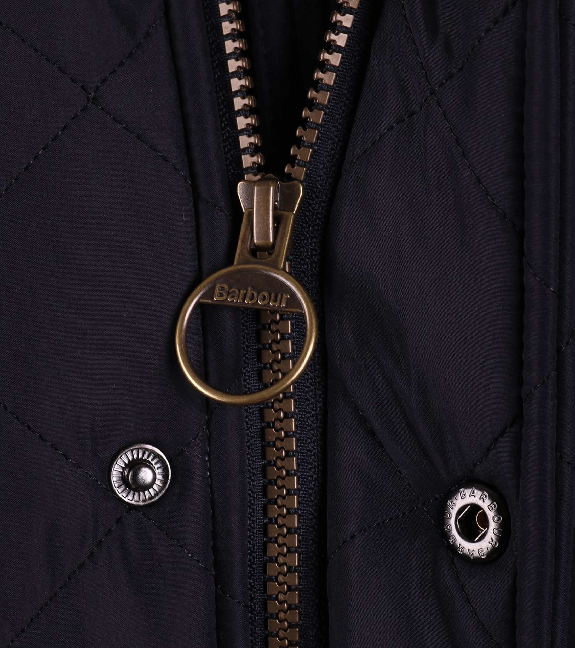 Barbour Quilted Jas Powell Navy foto 4