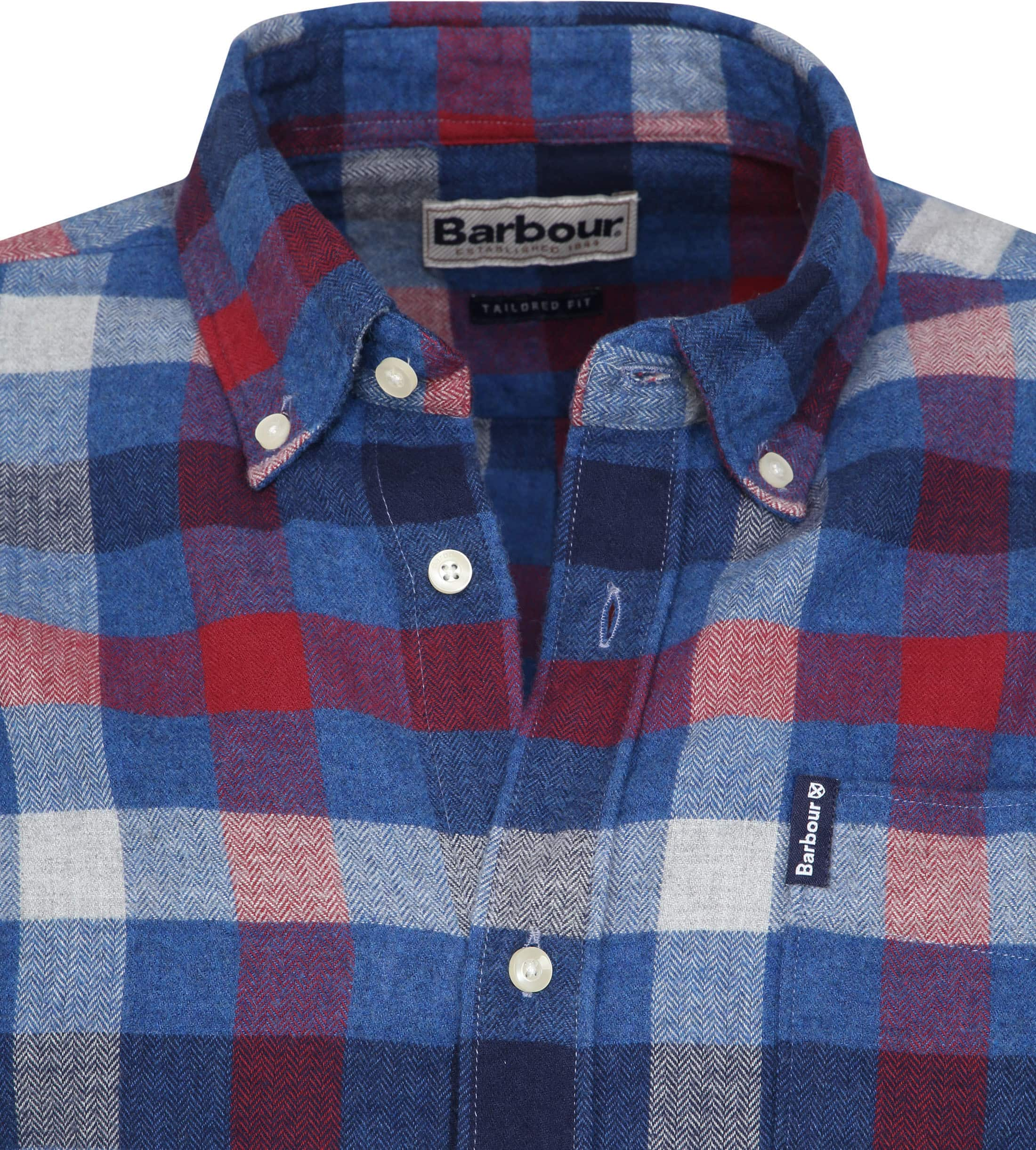 Barbour Shirt Country Check foto 1