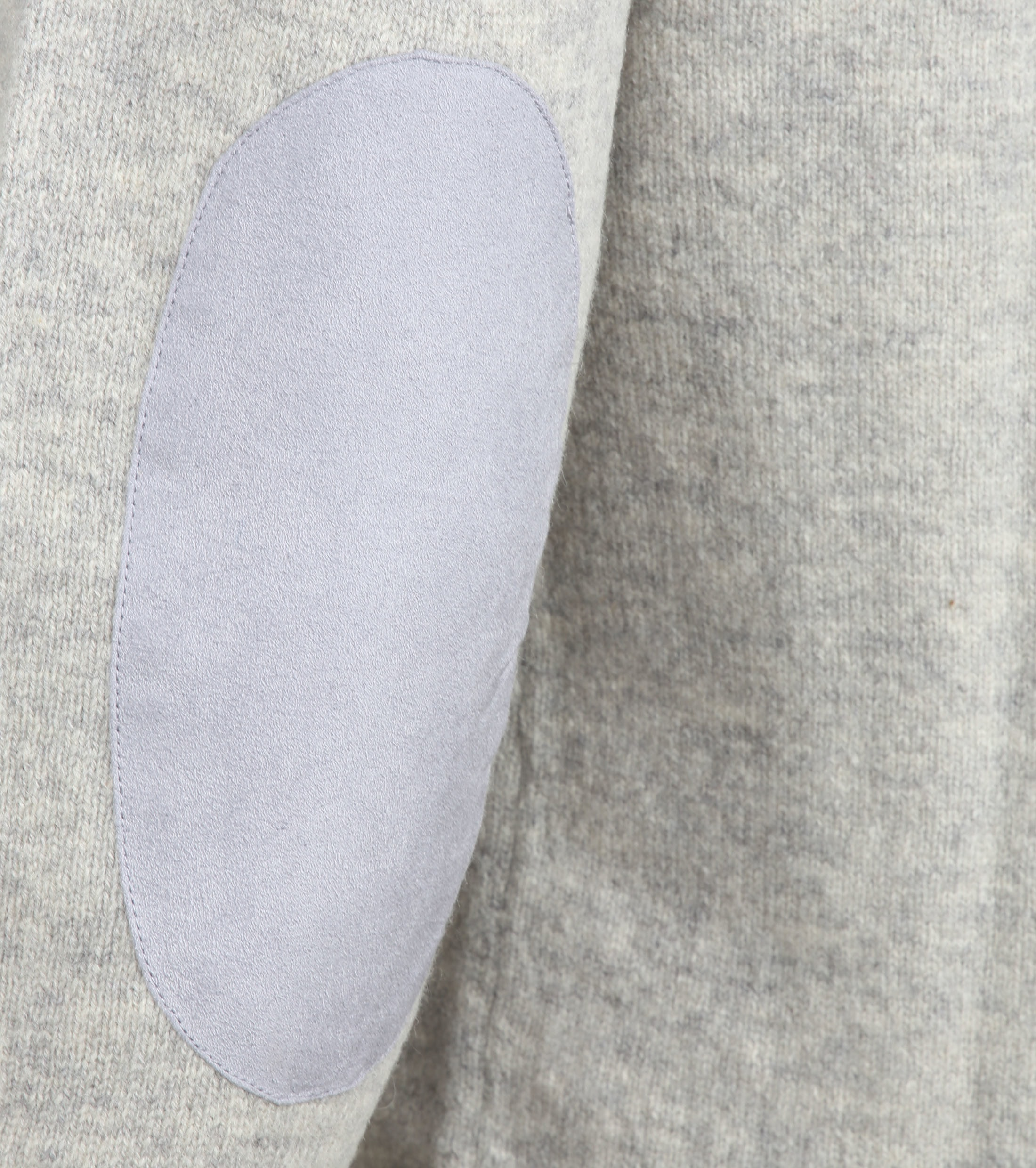 Barbour Sweater Wool Patch Grey foto 3