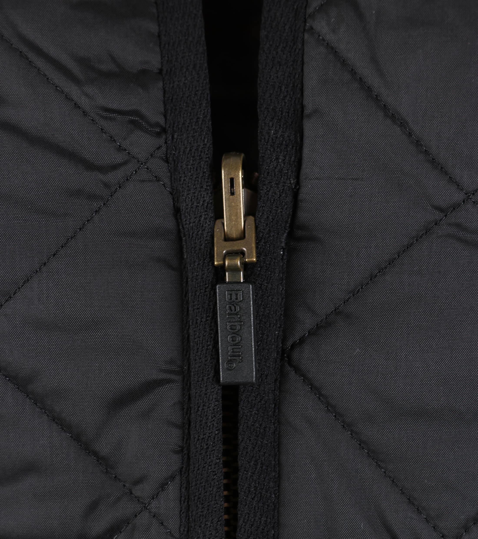 Barbour Waistcoat Polarquilt Black foto 2