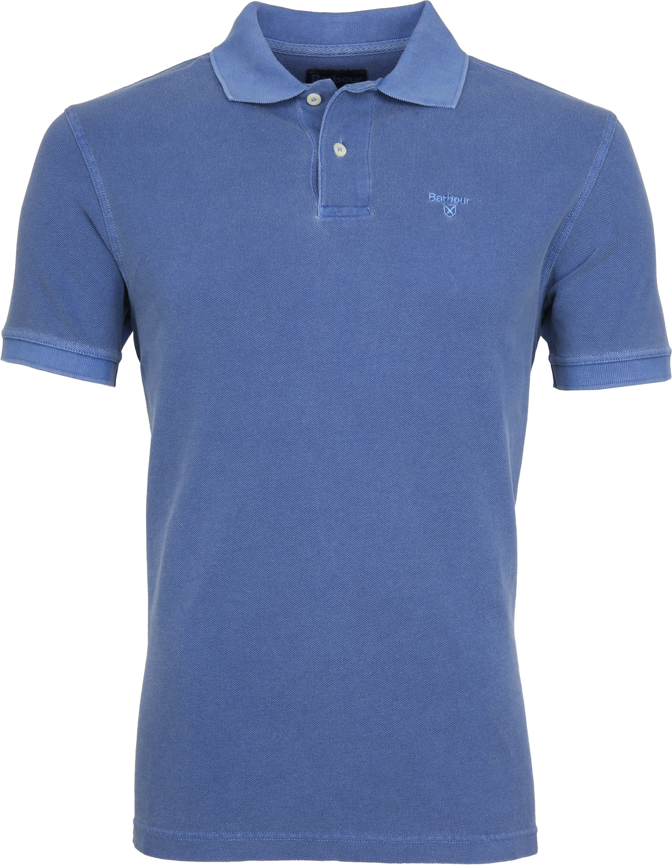 Barbour Washed Polo Blue foto 0
