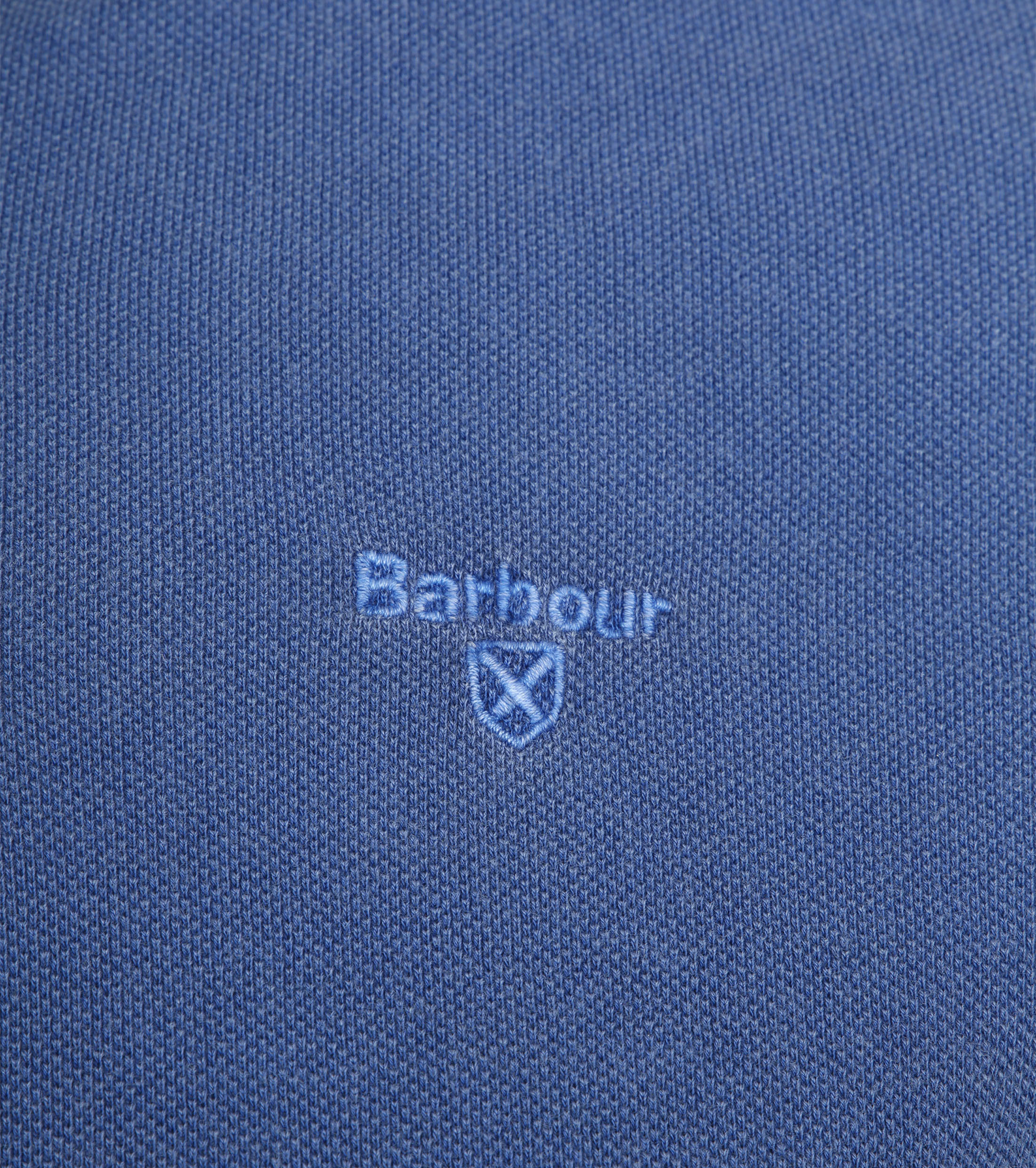 Barbour Washed Polo Blue foto 2