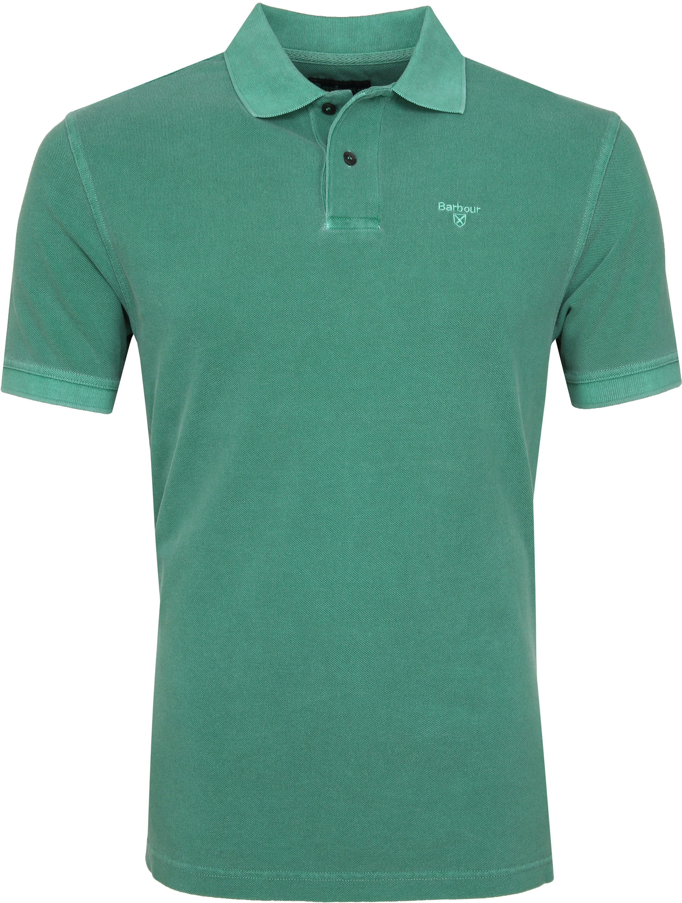 Barbour Washed Polo Groen foto 0
