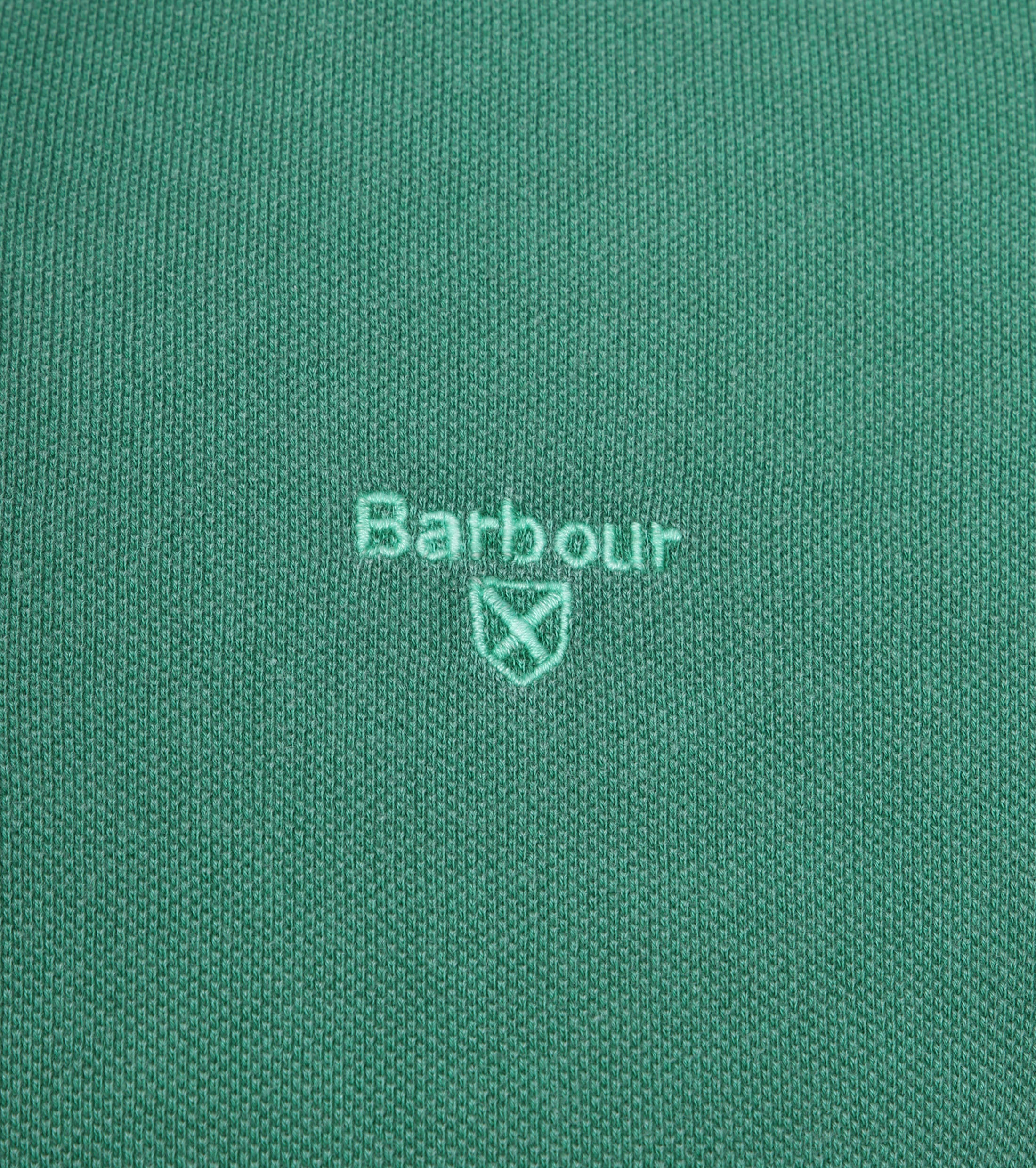 Barbour Washed Polo Groen foto 2