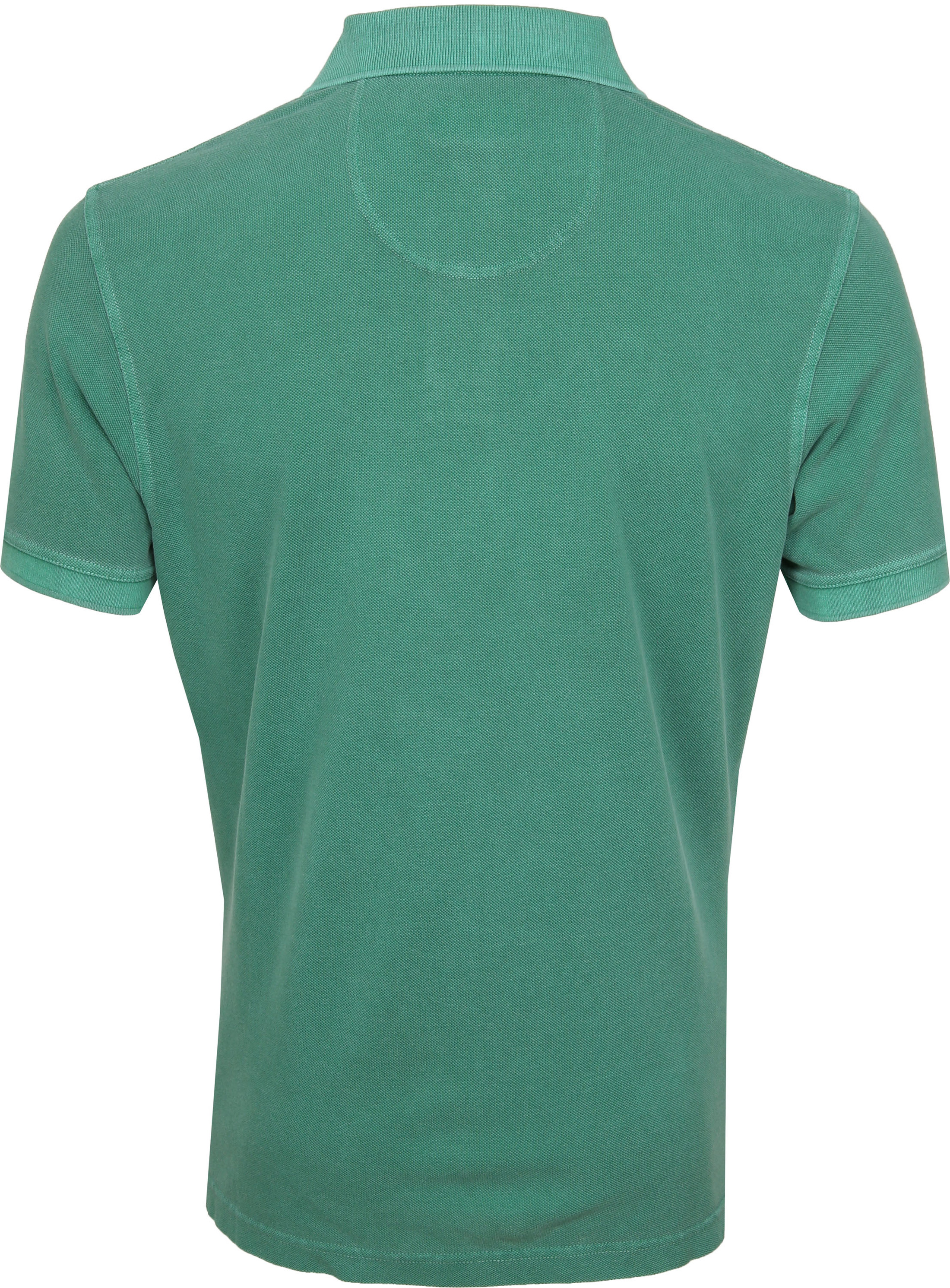 Barbour Washed Polo Groen foto 3