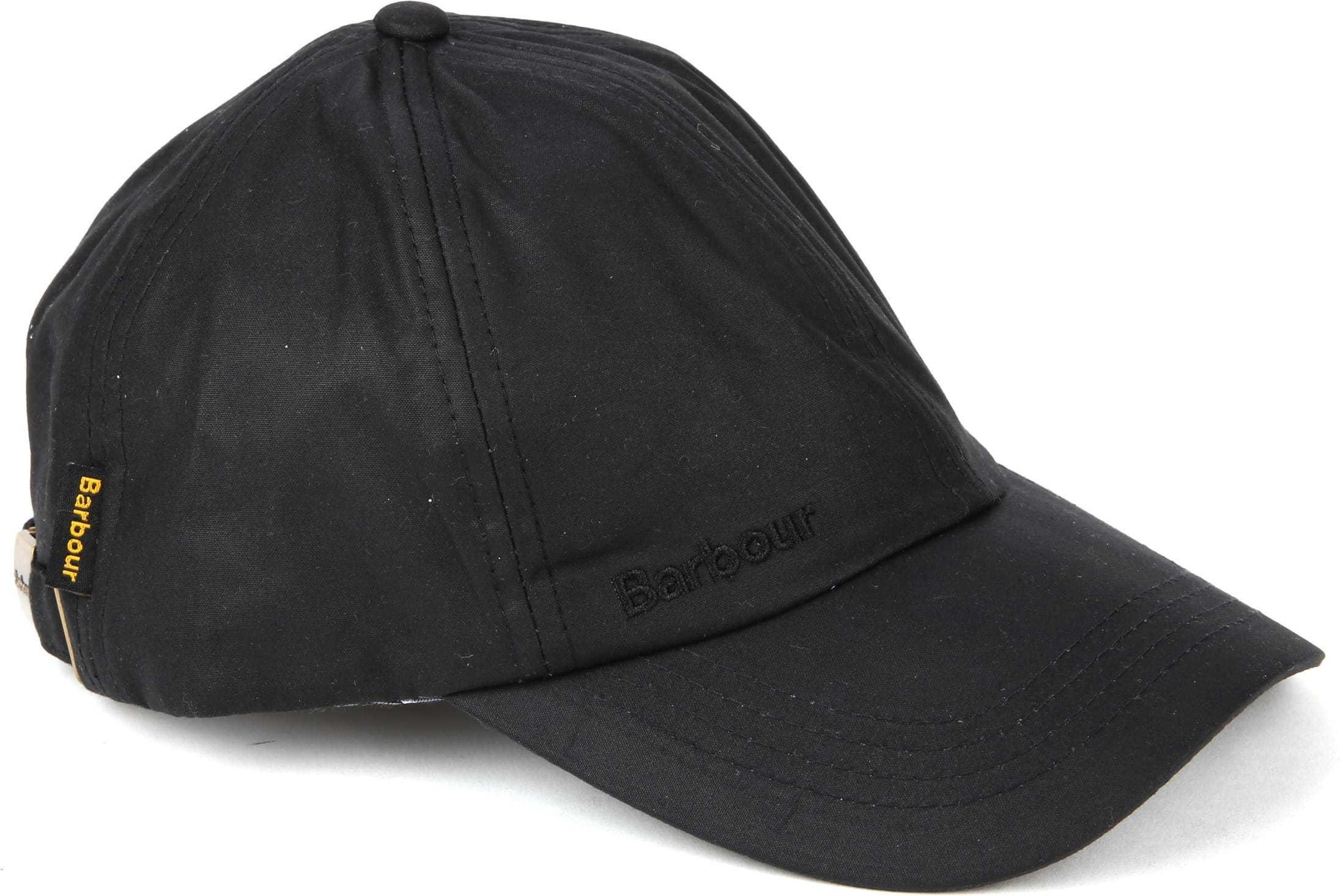 Barbour Wax Cap Black foto 0