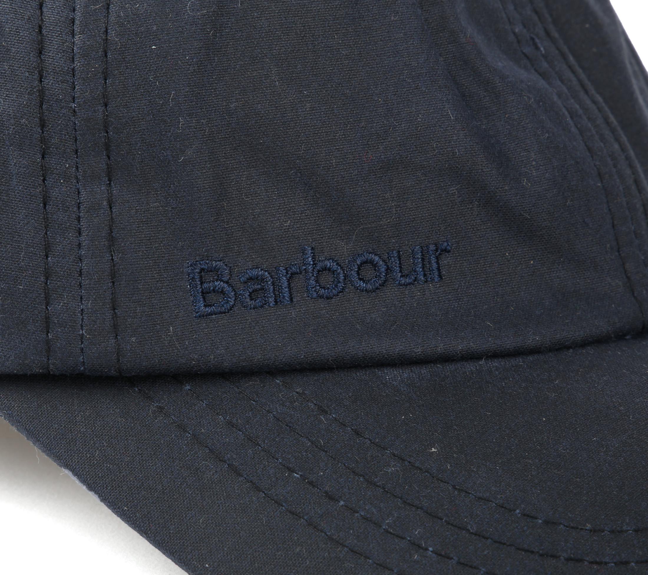 Barbour Wax Cap Navy foto 1