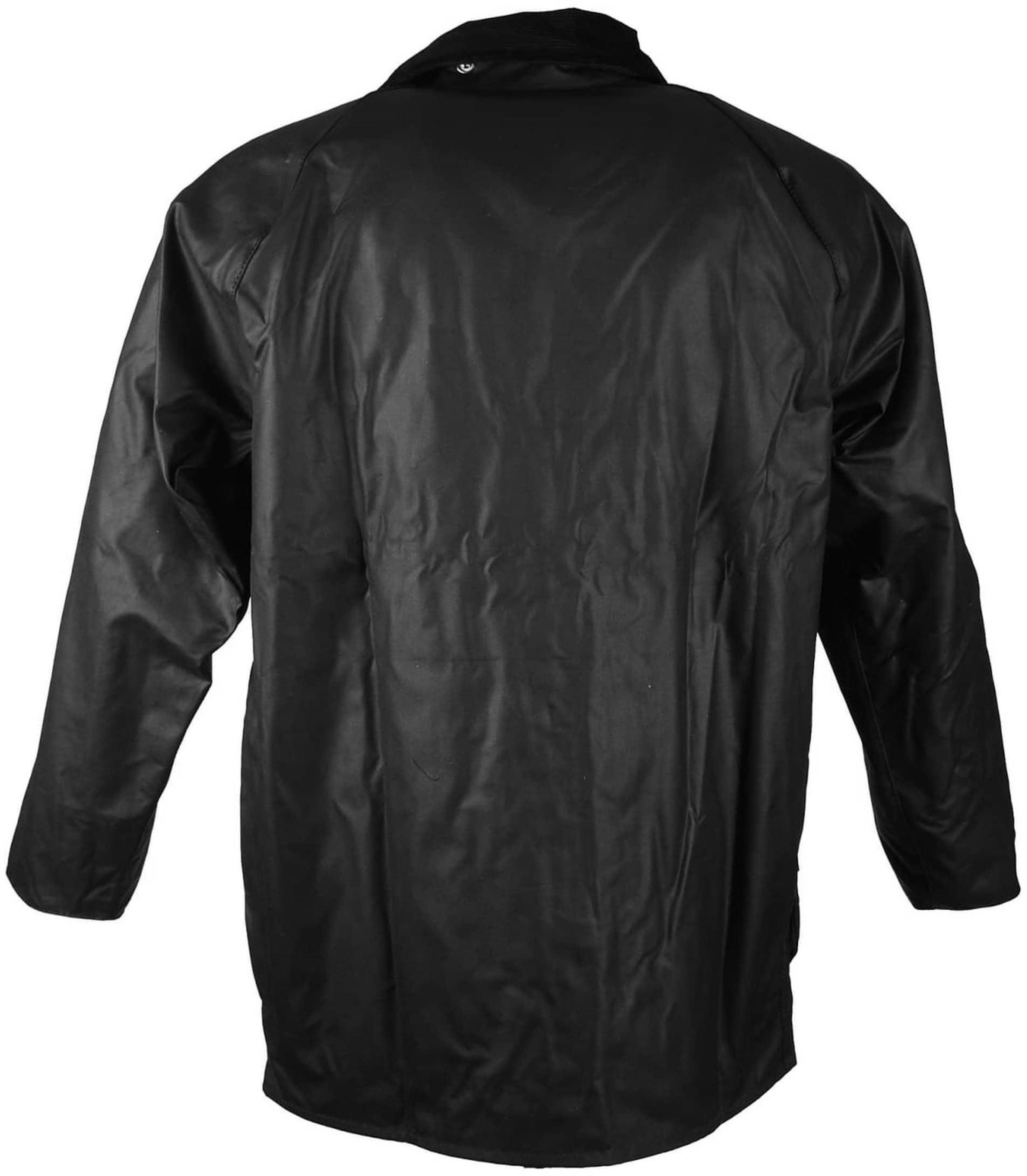 Barbour Wax Coat Beaufort Black
