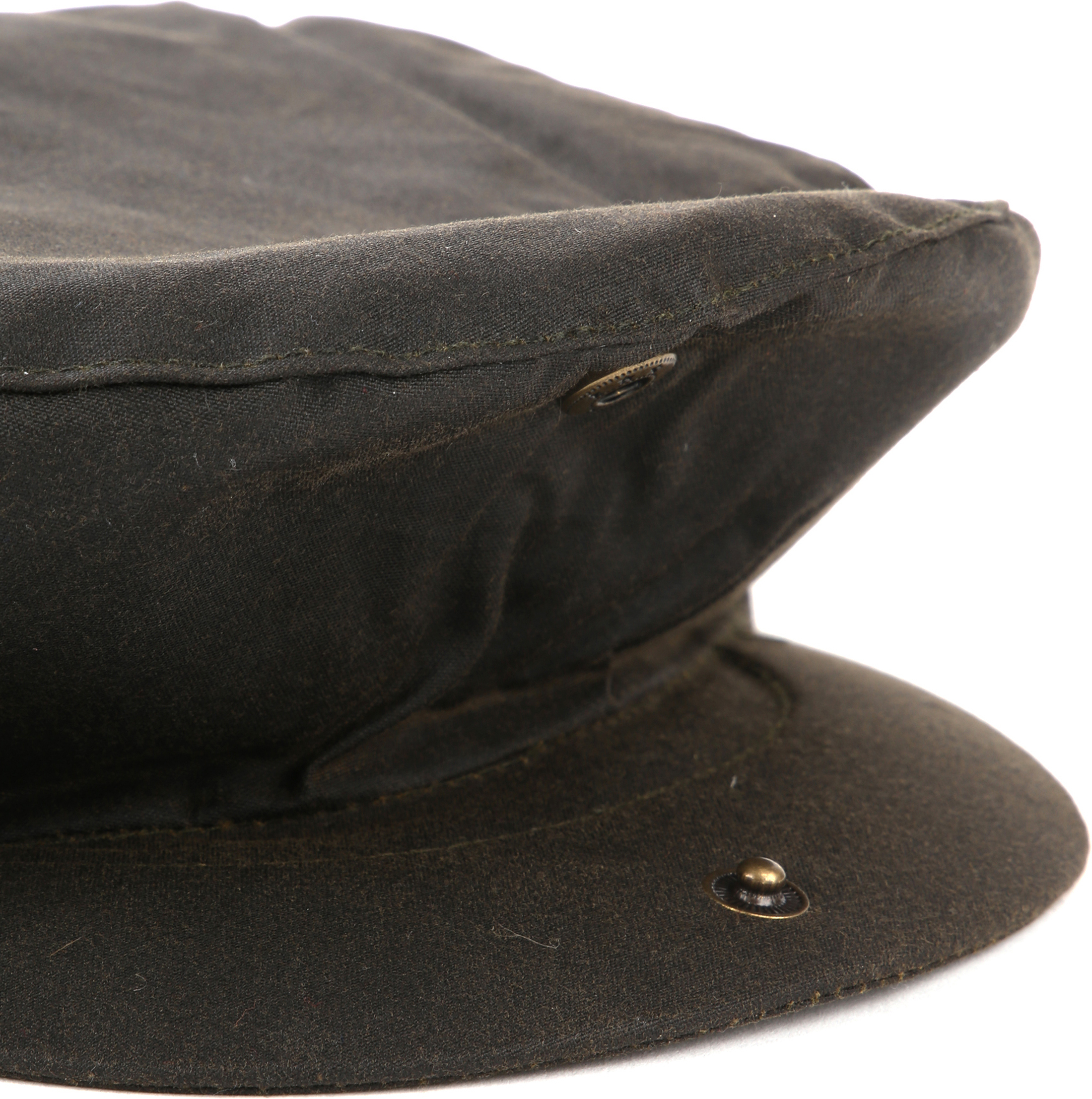 Barbour Wax Flat Cap Green photo 3
