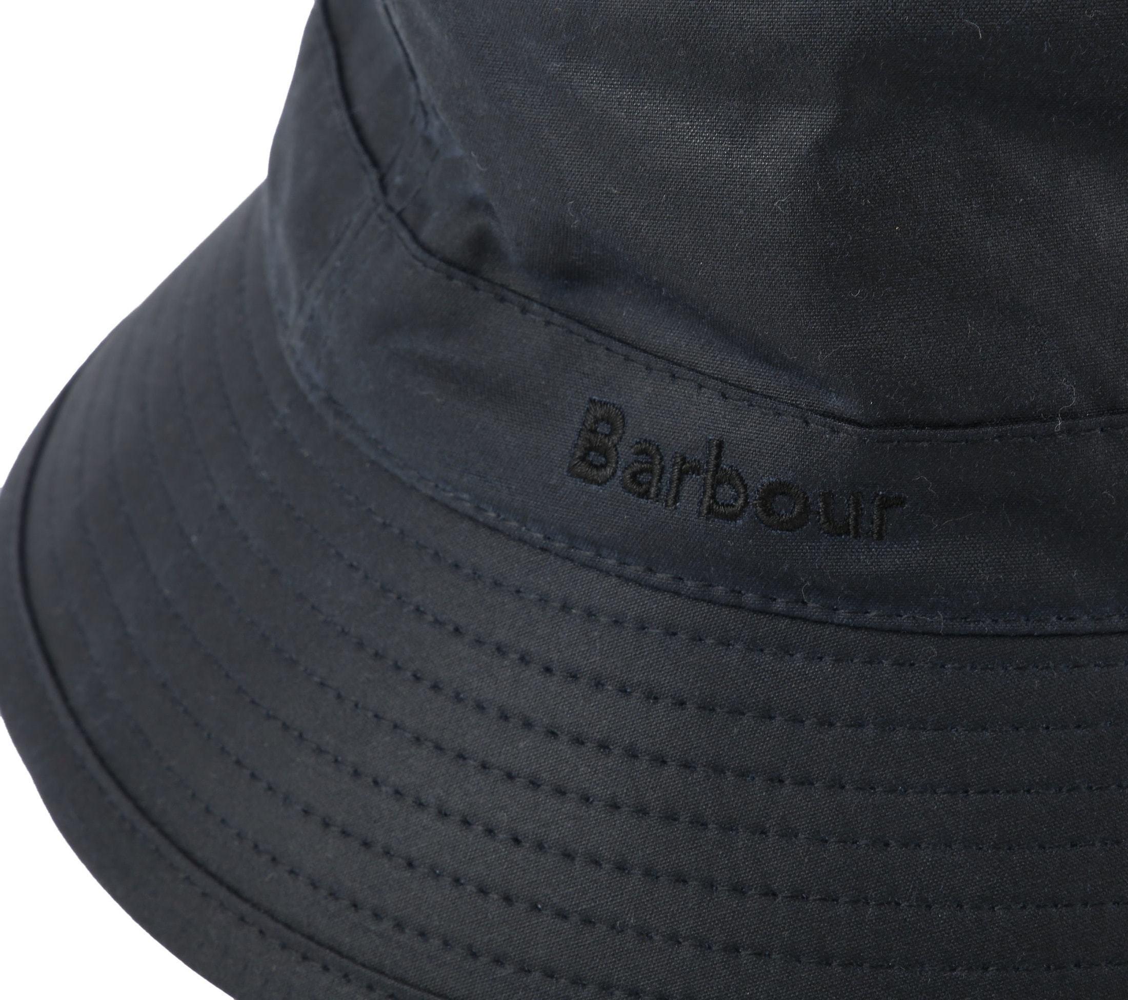 Barbour Wax Hat Navy foto 1