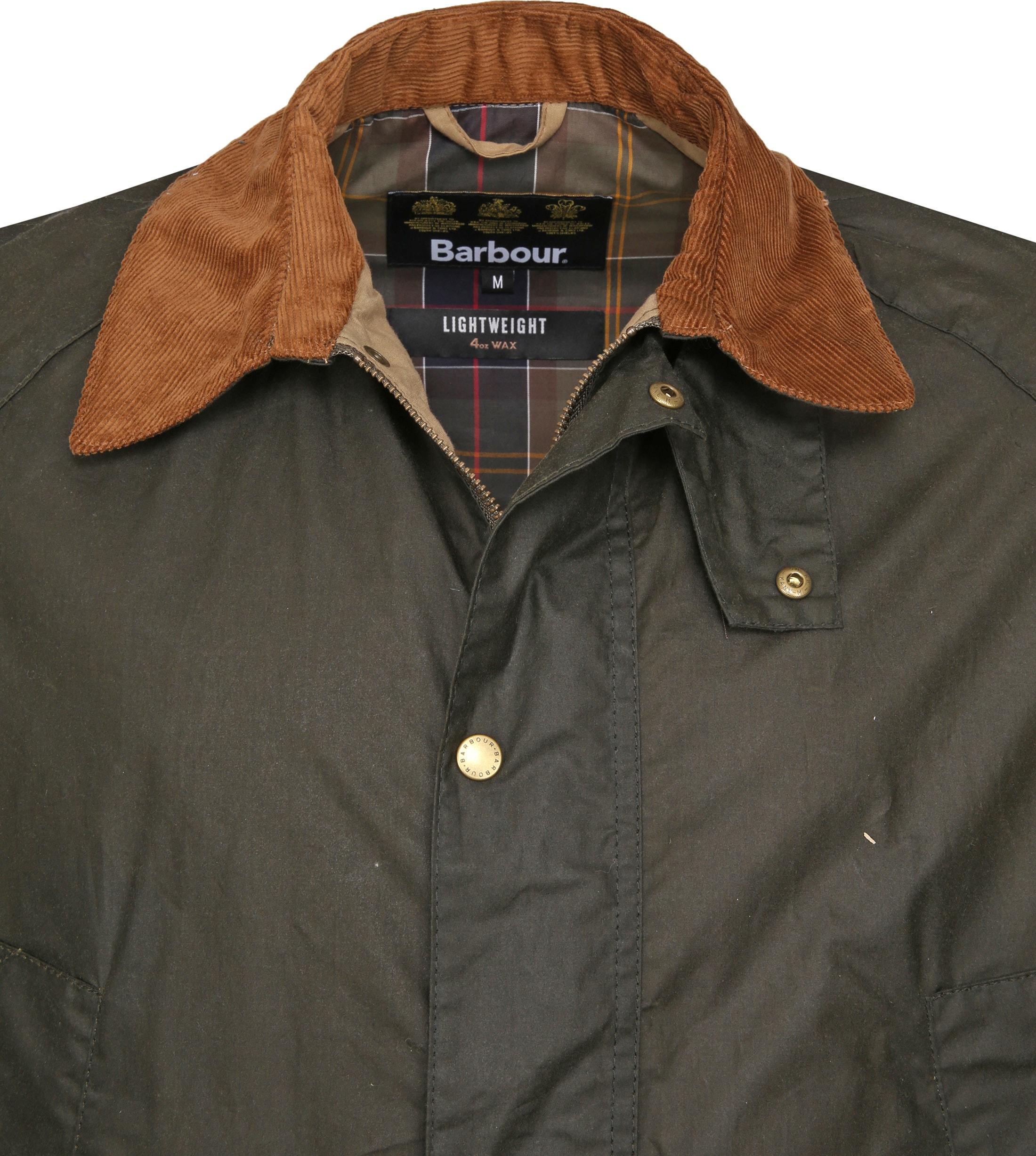 Barbour Wax Jacket Ashby Darkgreen foto 1
