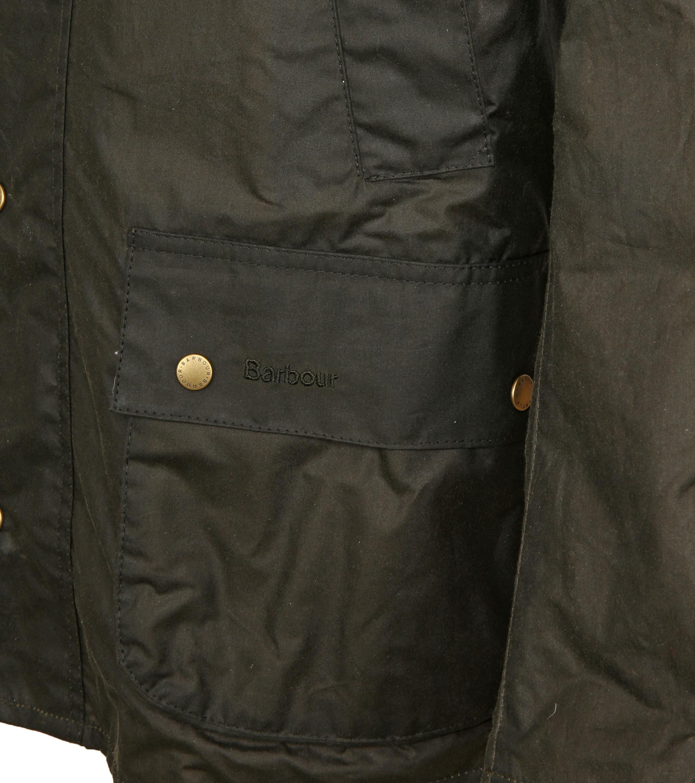 Barbour Wax Jacket Ashby Darkgreen foto 2