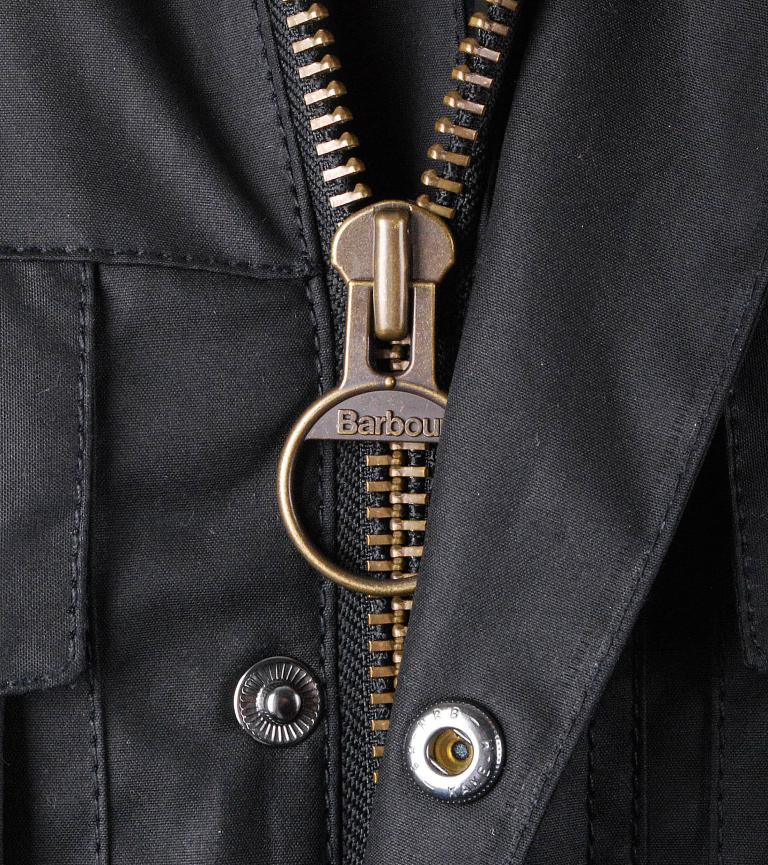 Barbour Wax Jacket Corbridge Black