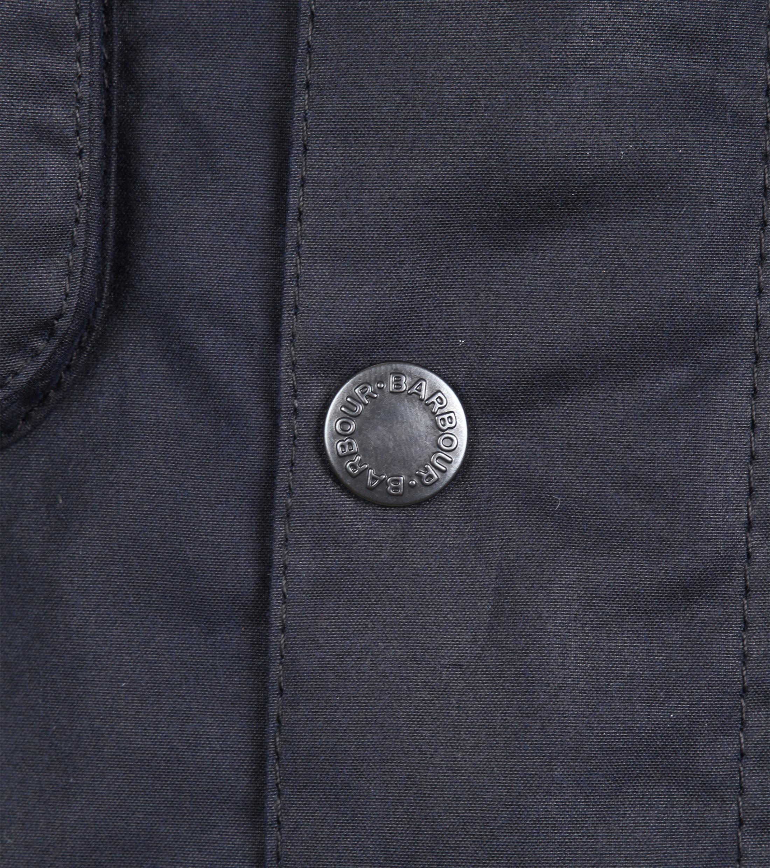 Barbour Wax Jacket Netherley Navy foto 4