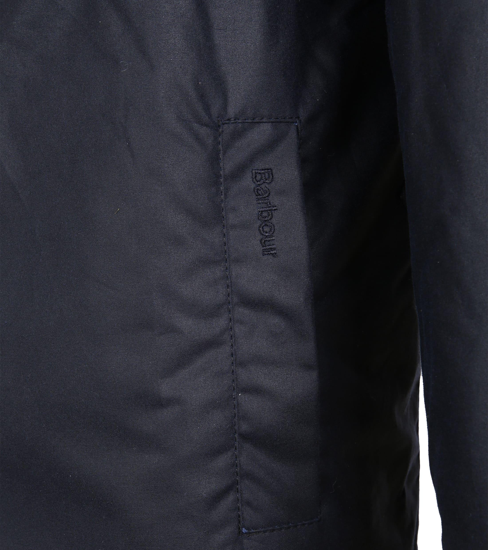 Barbour Wax Jacket Netherley Navy foto 6