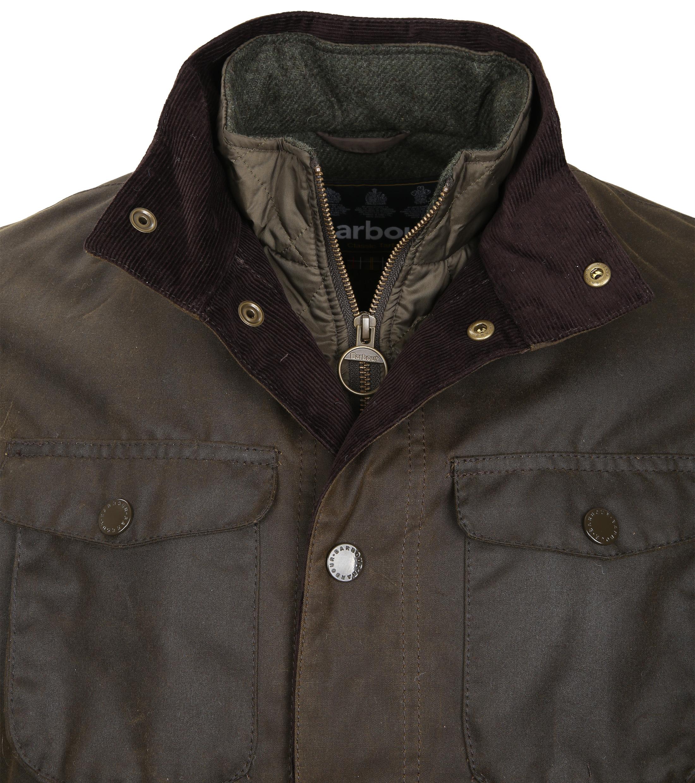 Barbour Wax Jacket Ogston Olive