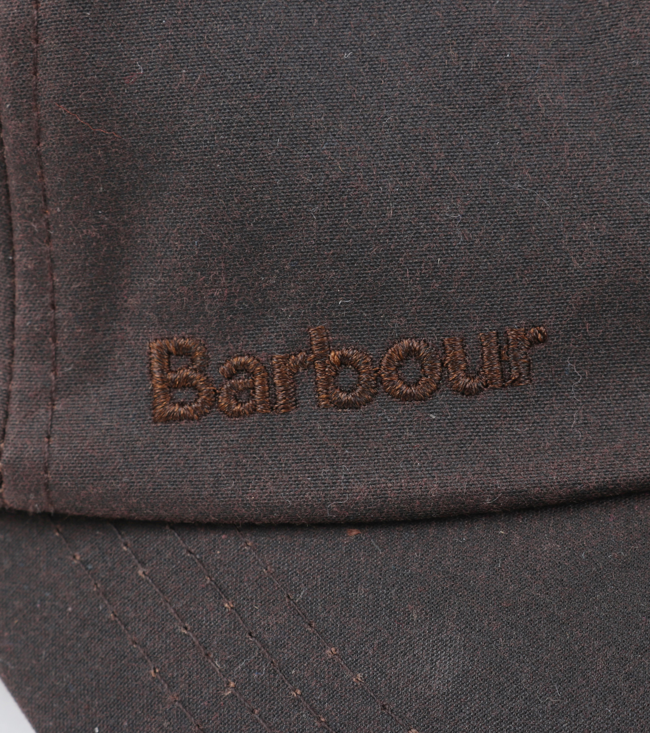 Barbour Wax Pet Bruin foto 2