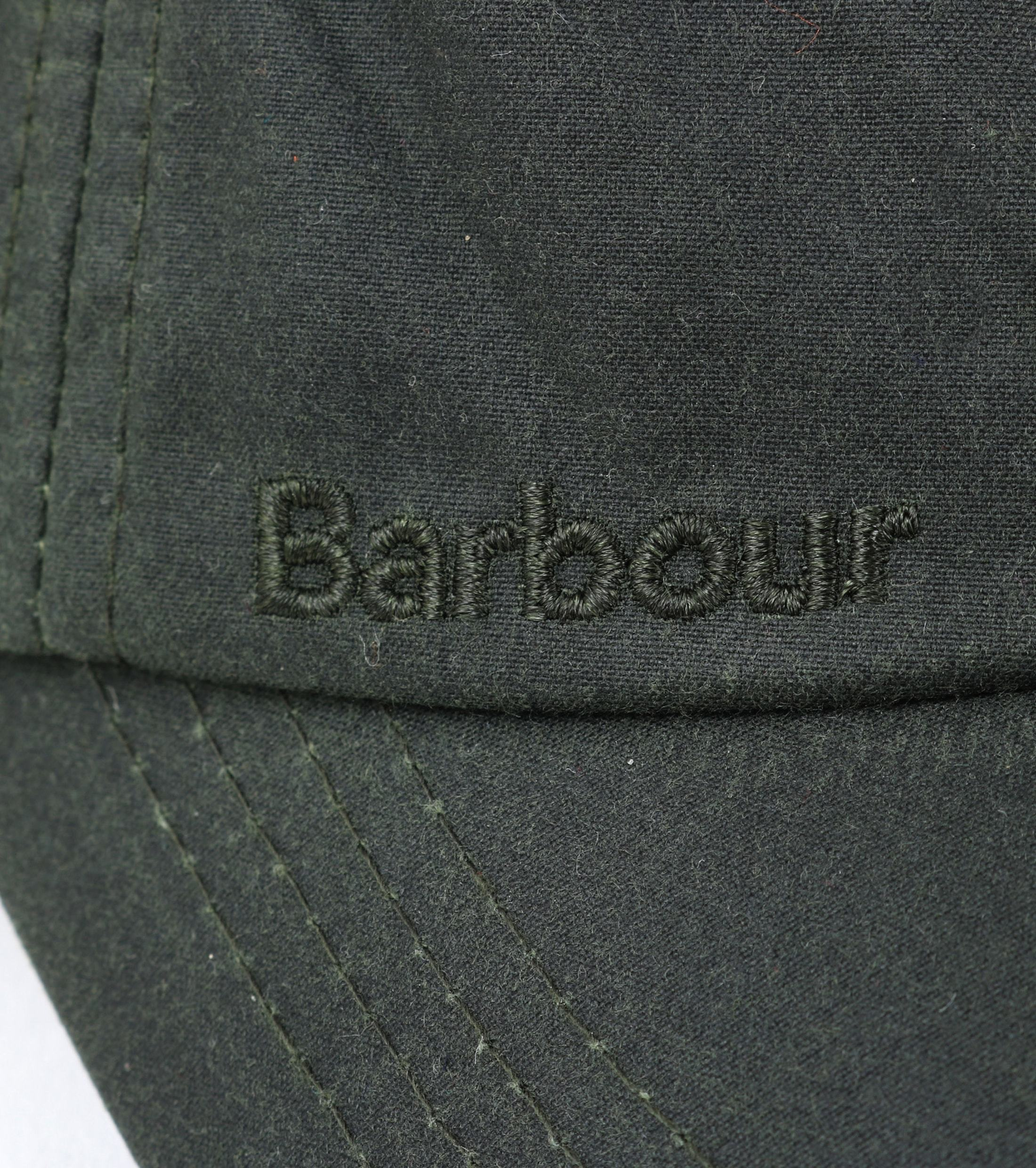 Barbour Wax Pet Groen foto 2