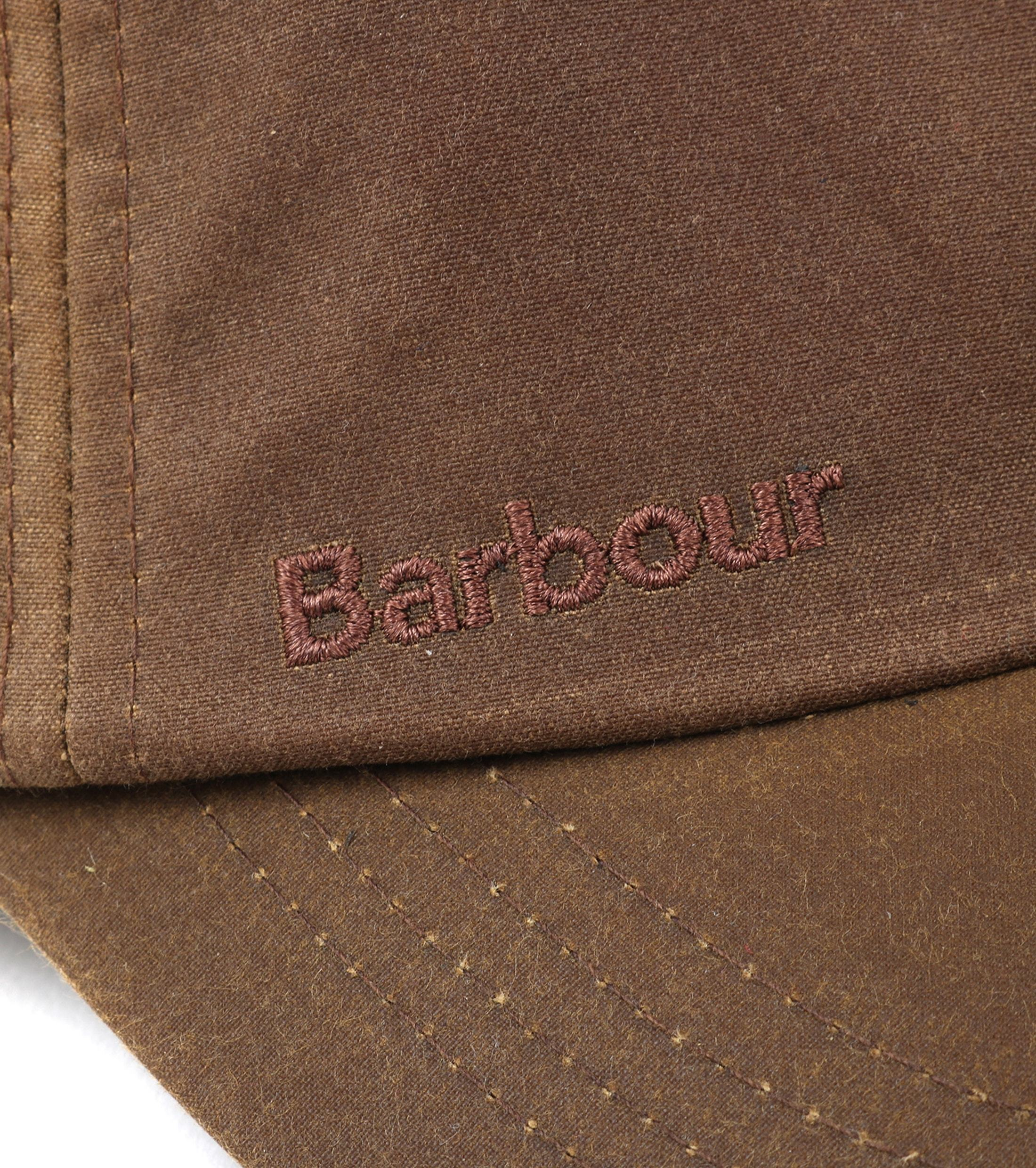 Barbour Wax Pet Lichtbruin foto 2