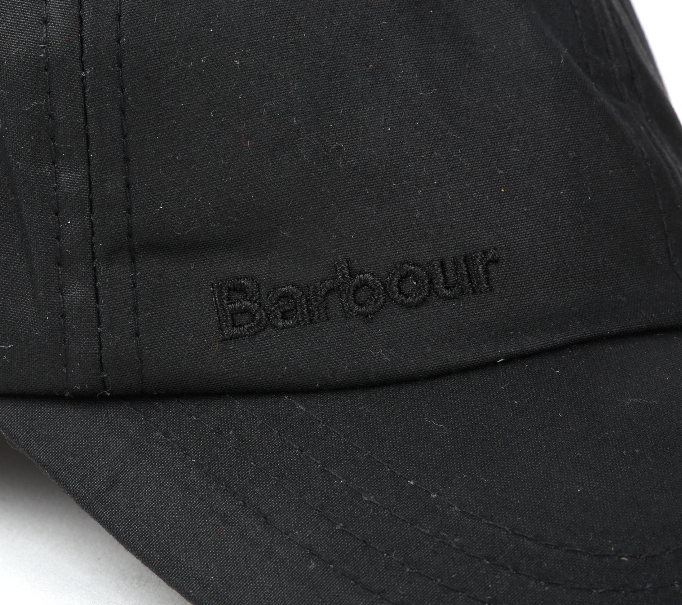 Barbour Wax Pet Zwart foto 1