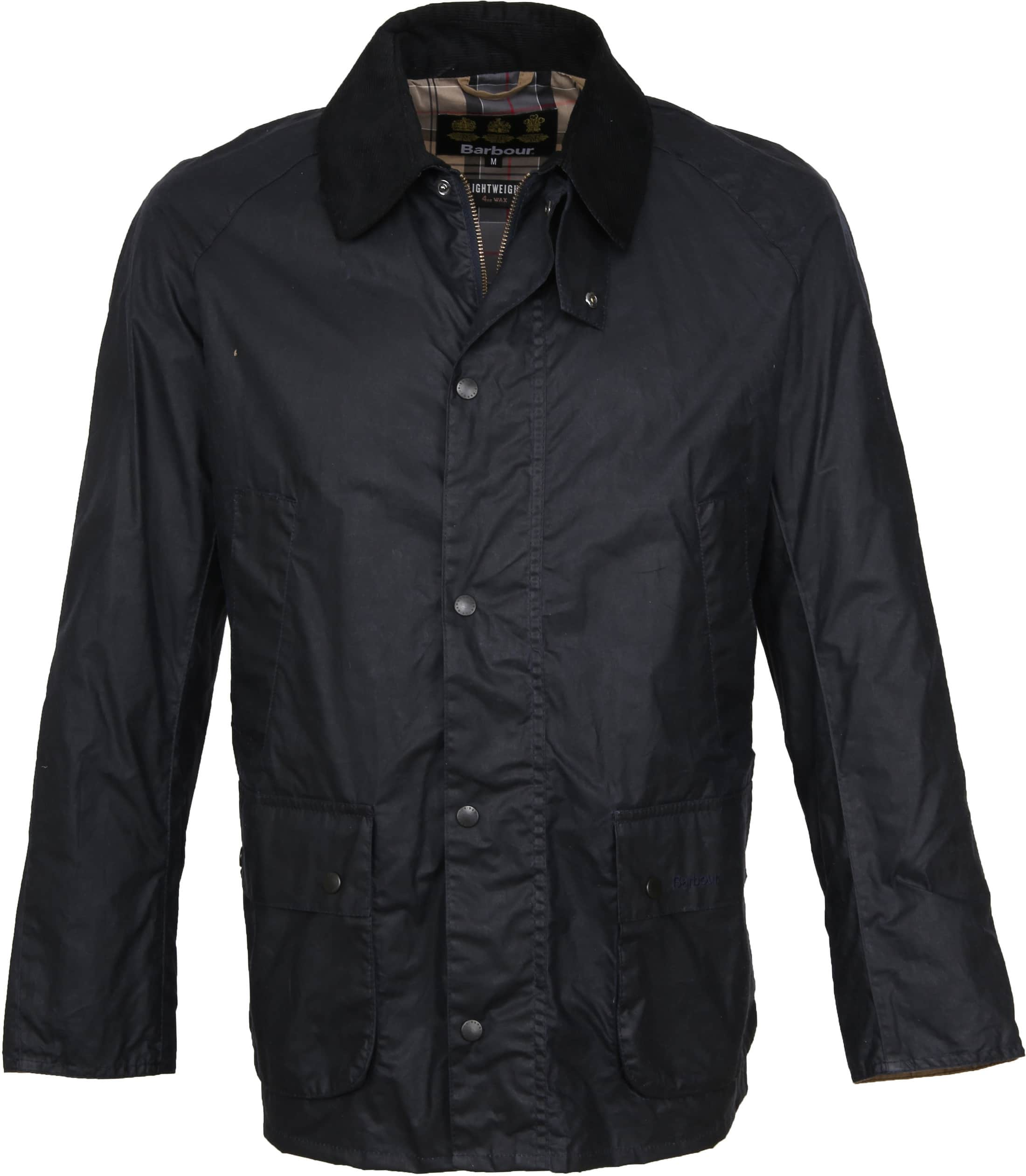 Barbour Waxjas Ashby Navy foto 0