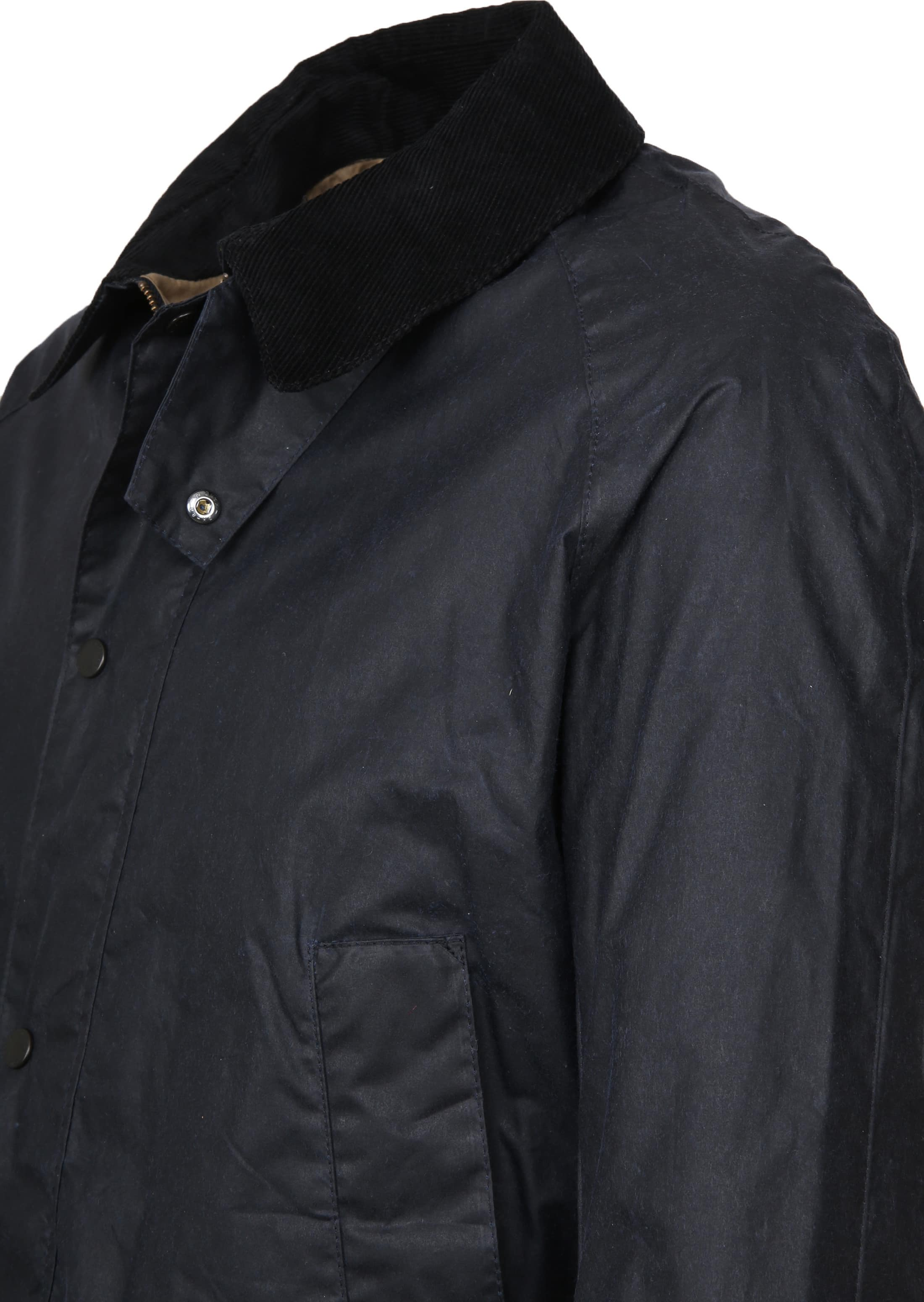 Barbour Waxjas Ashby Navy foto 3