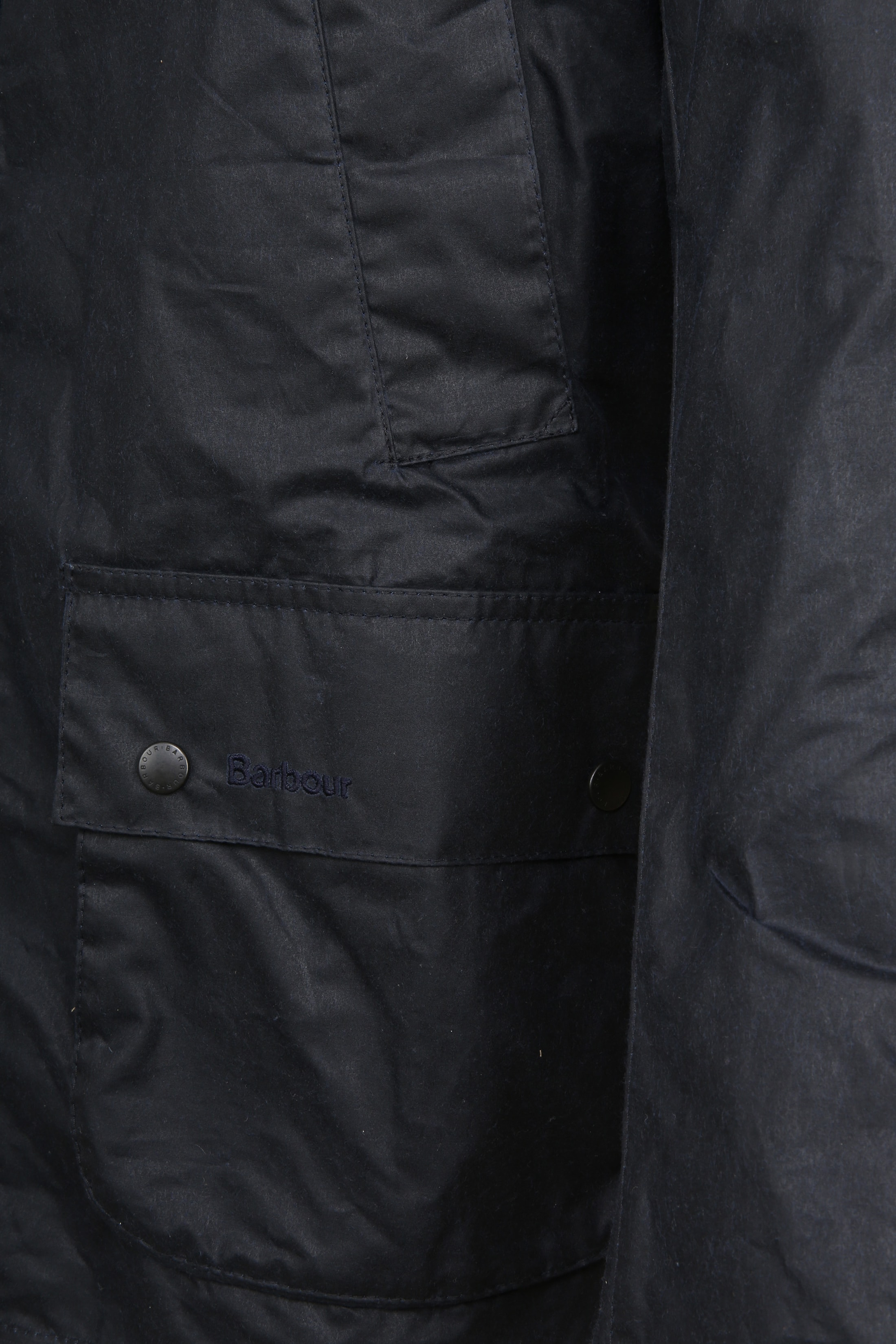 Barbour Waxjas Ashby Navy foto 5