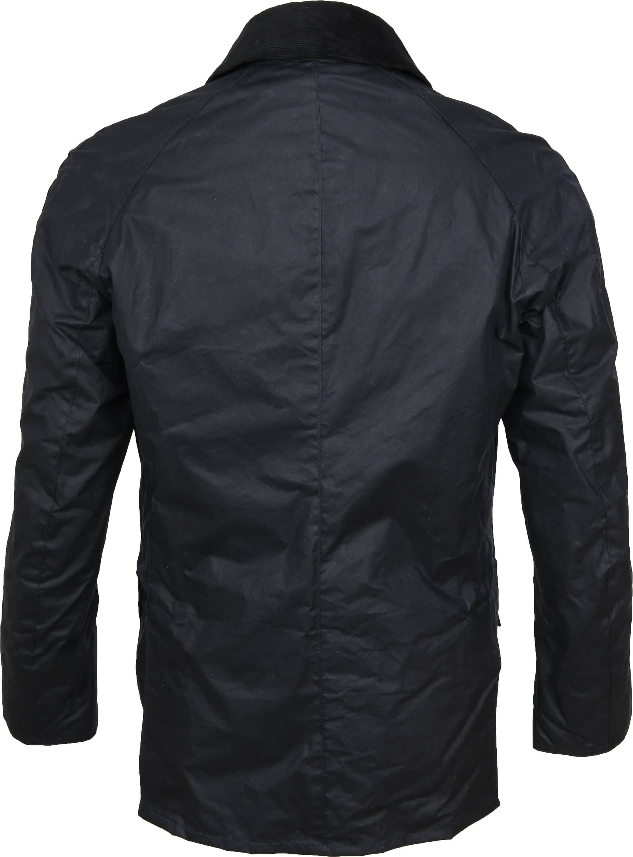 Barbour Waxjas Ashby Navy foto 6