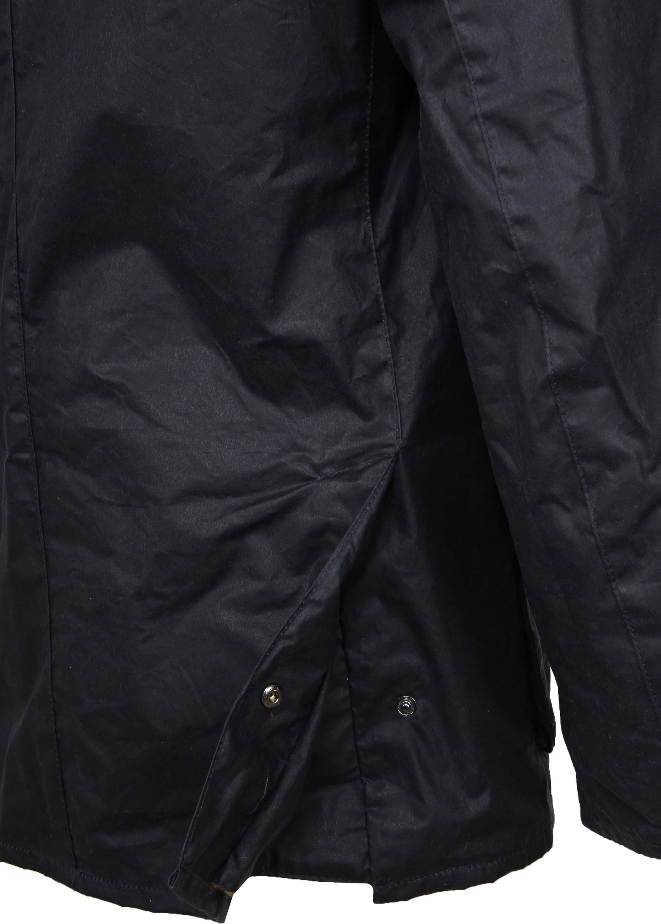 Barbour Waxjas Ashby Navy foto 7