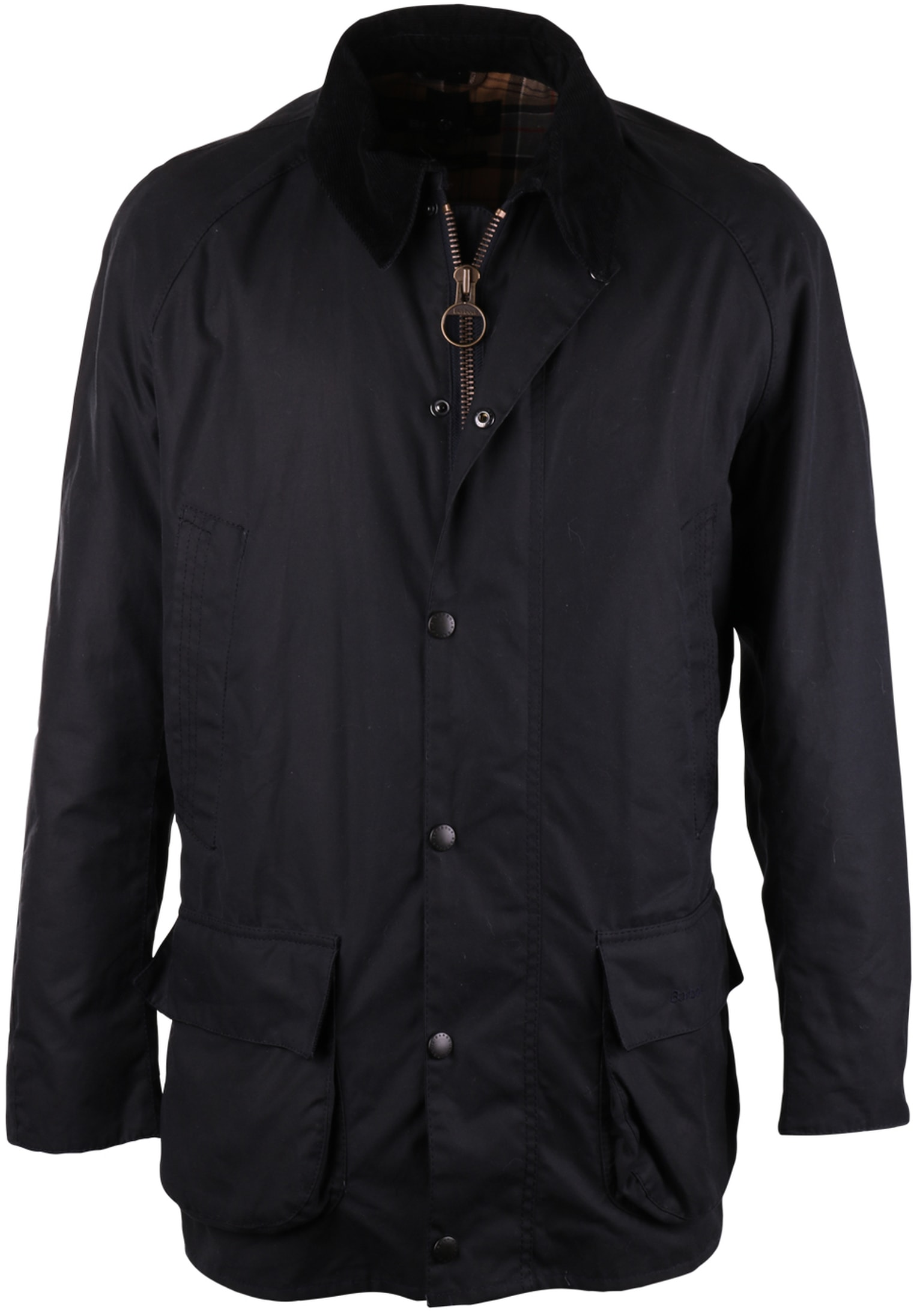 Barbour Waxjas Bristol Jacket Navy foto 0