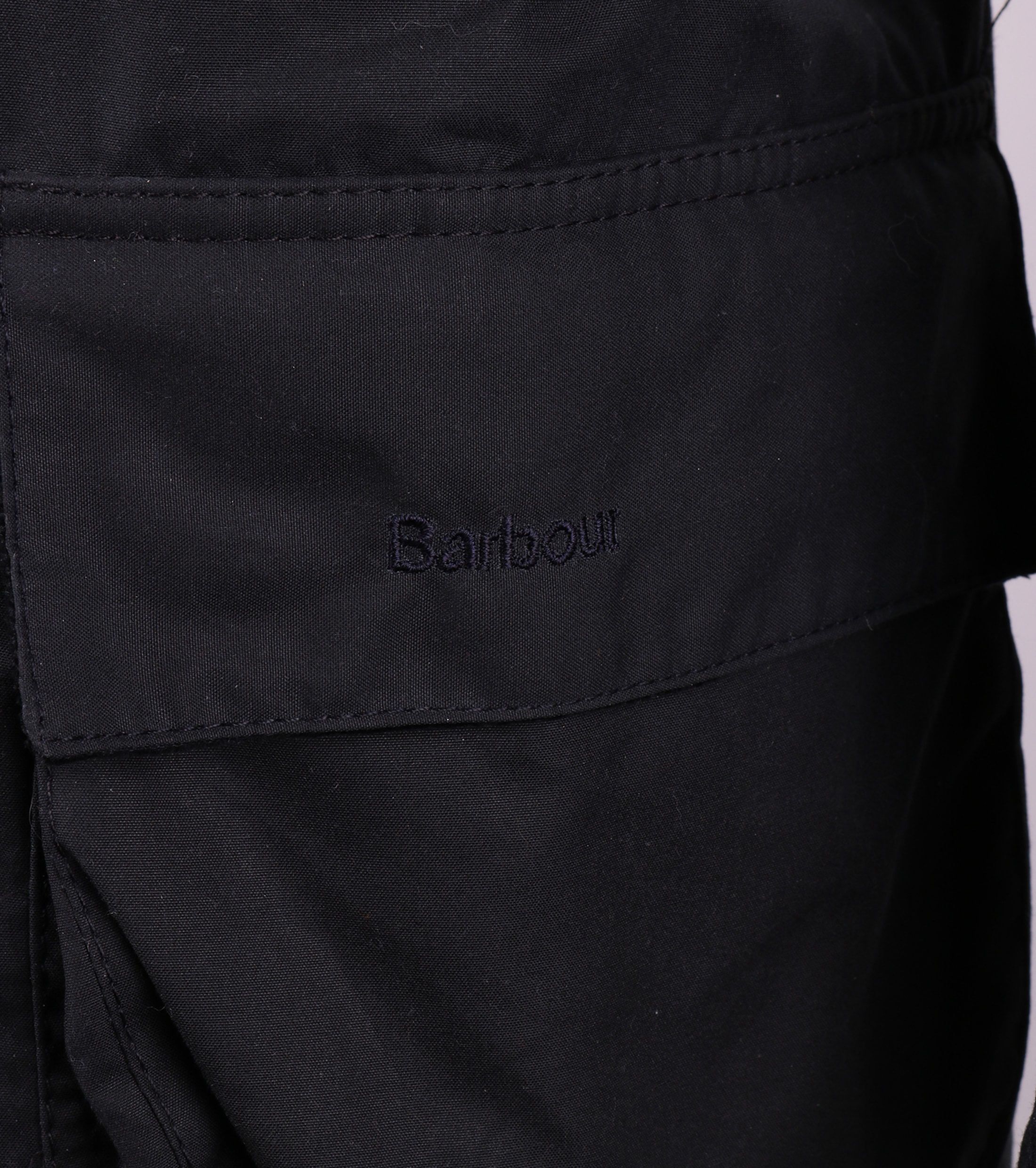 Barbour Waxjas Bristol Jacket Navy foto 4