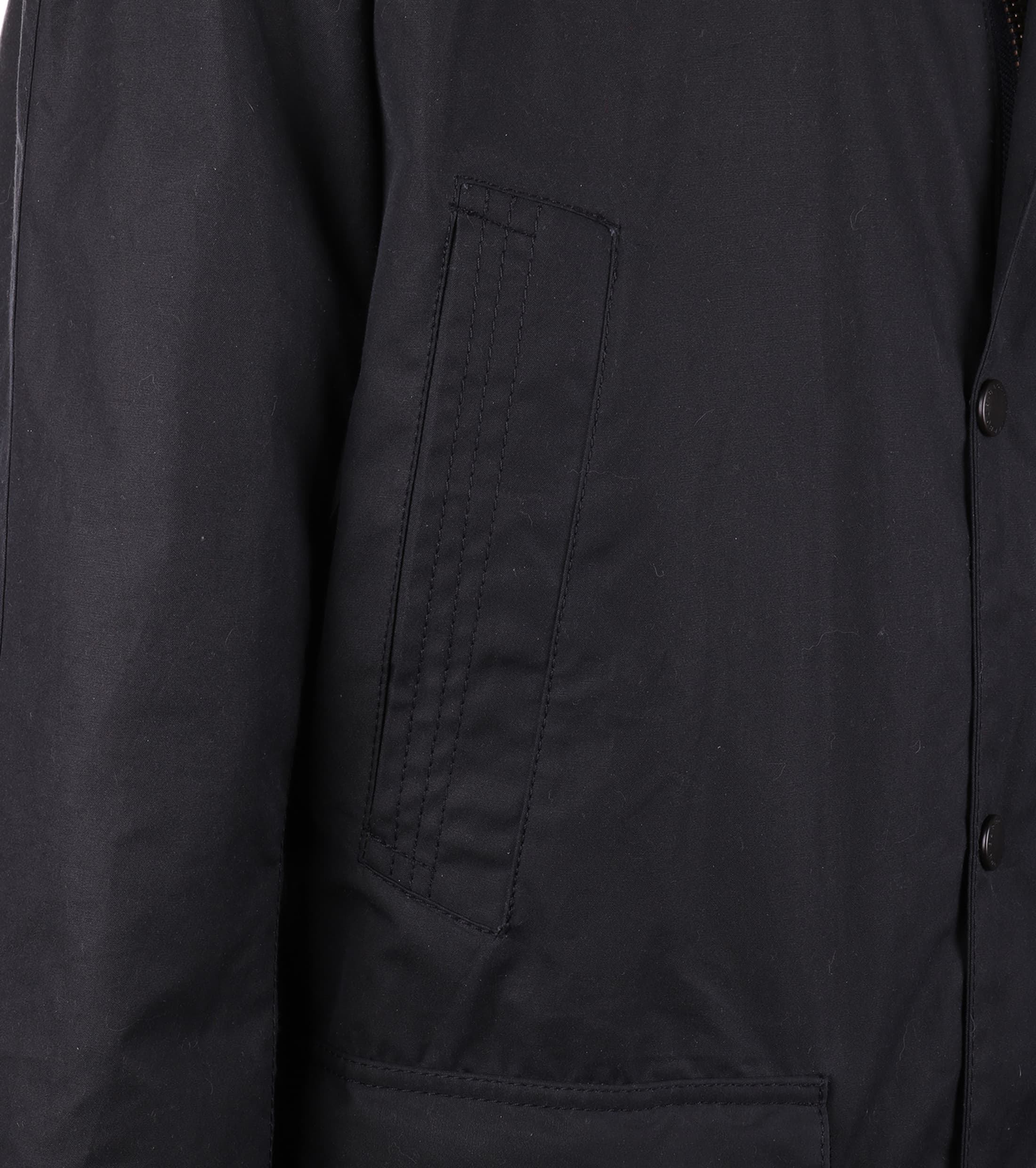Barbour Waxjas Bristol Jacket Navy foto 6