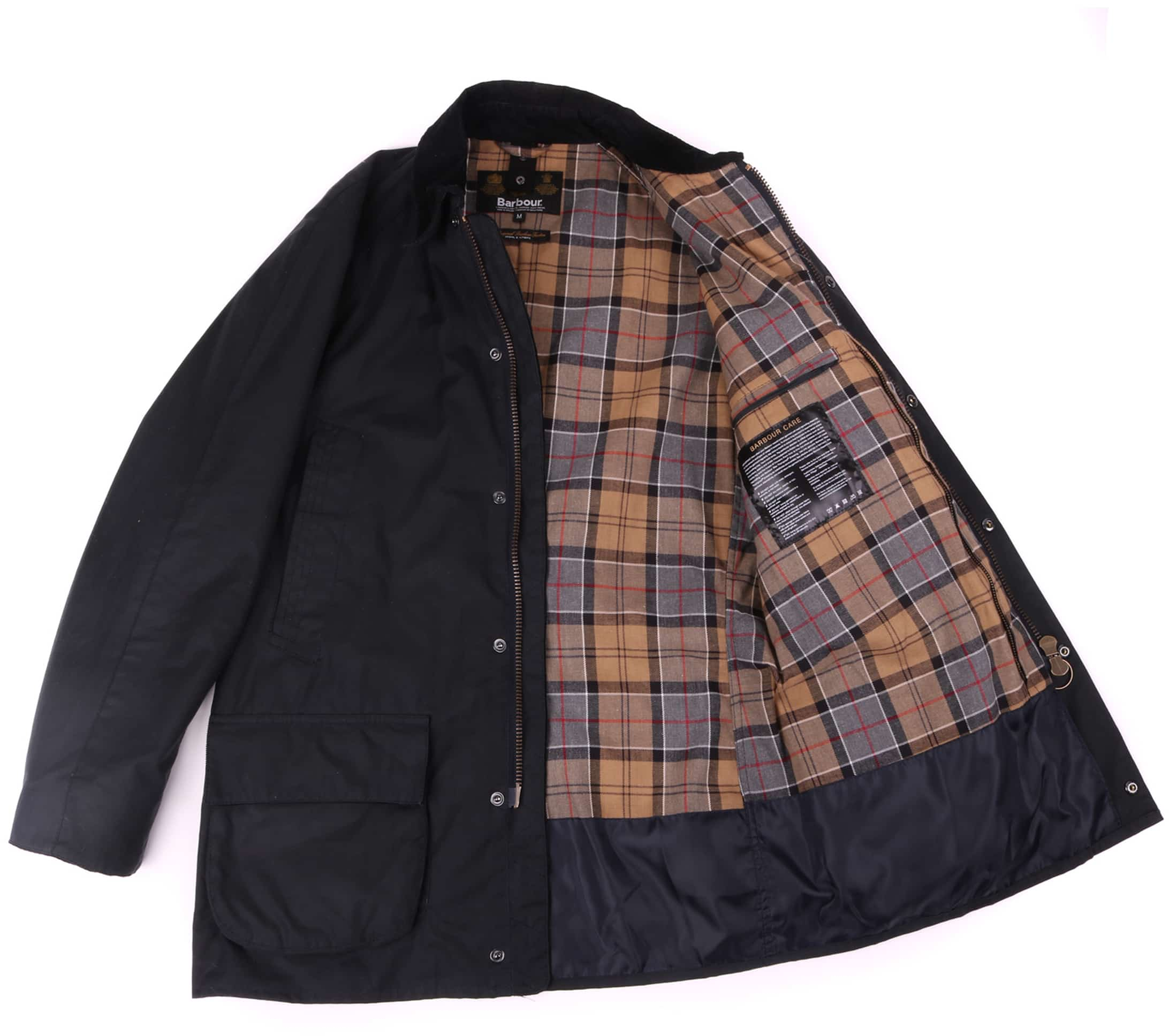 Barbour Waxjas Bristol Jacket Navy foto 8