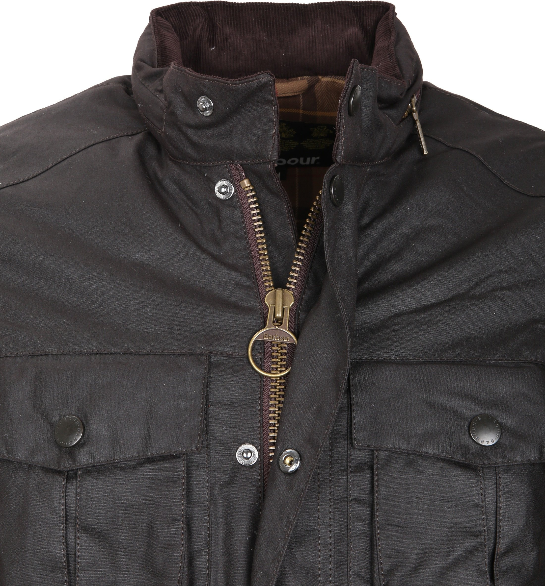 Barbour Waxjas Corbridge Rustic foto 1