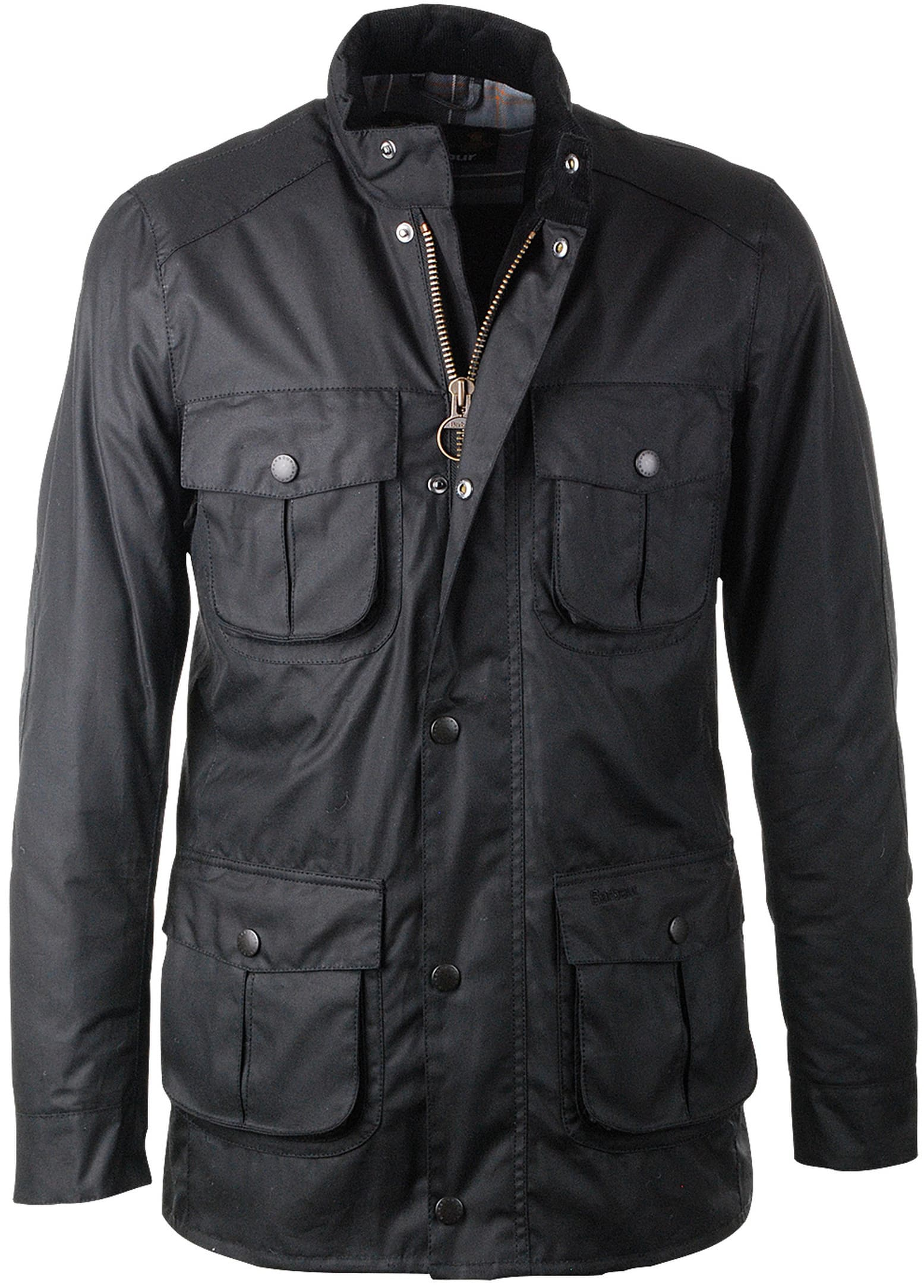 Barbour Waxjas Corbridge Zwart foto 0