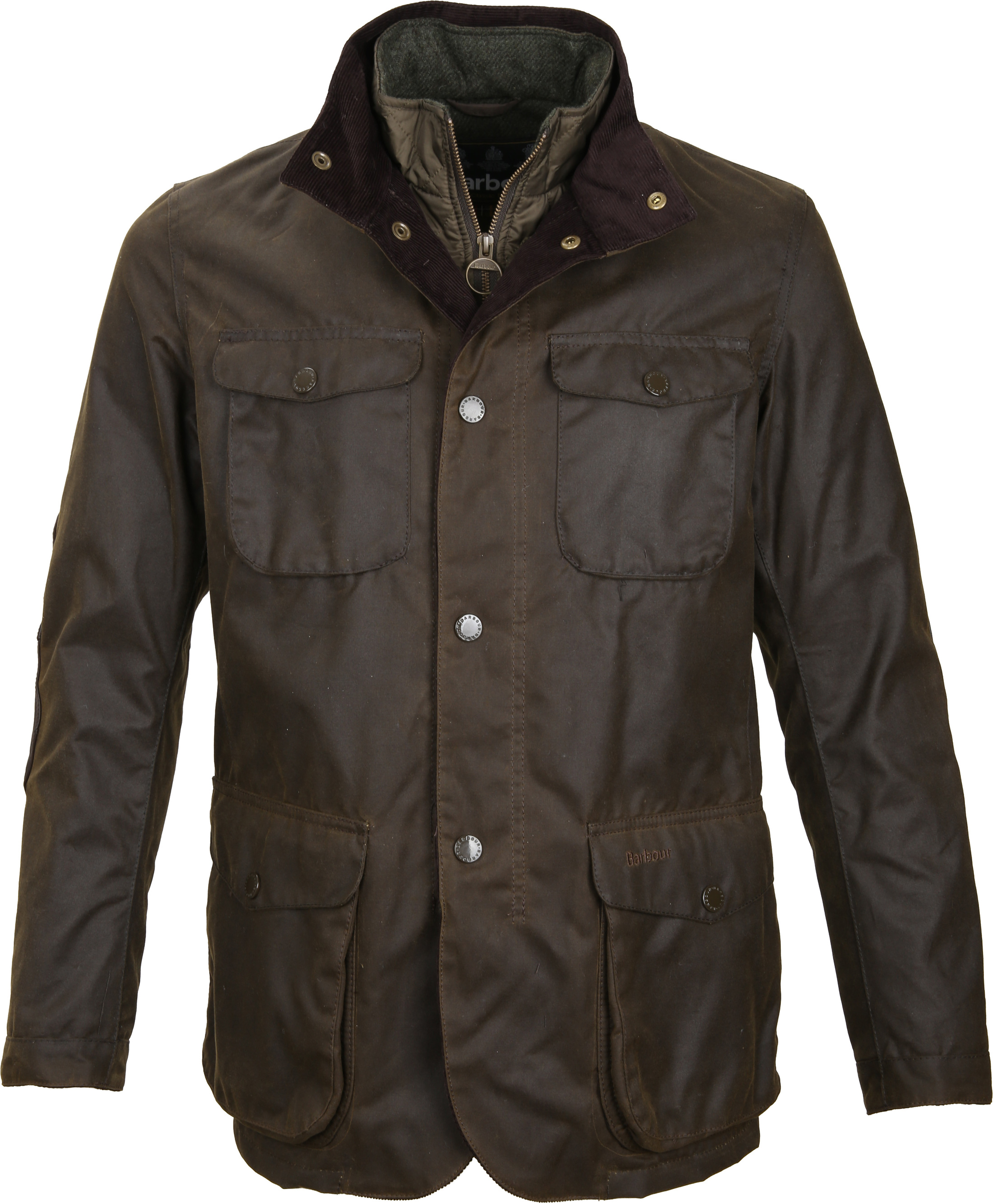 Barbour Waxjas Ogston Olive foto 0