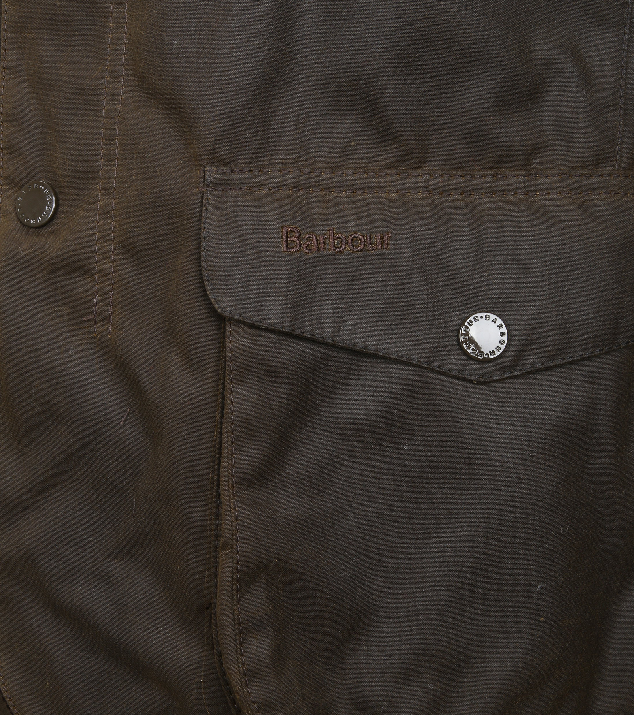 Barbour Waxjas Ogston Olive foto 3
