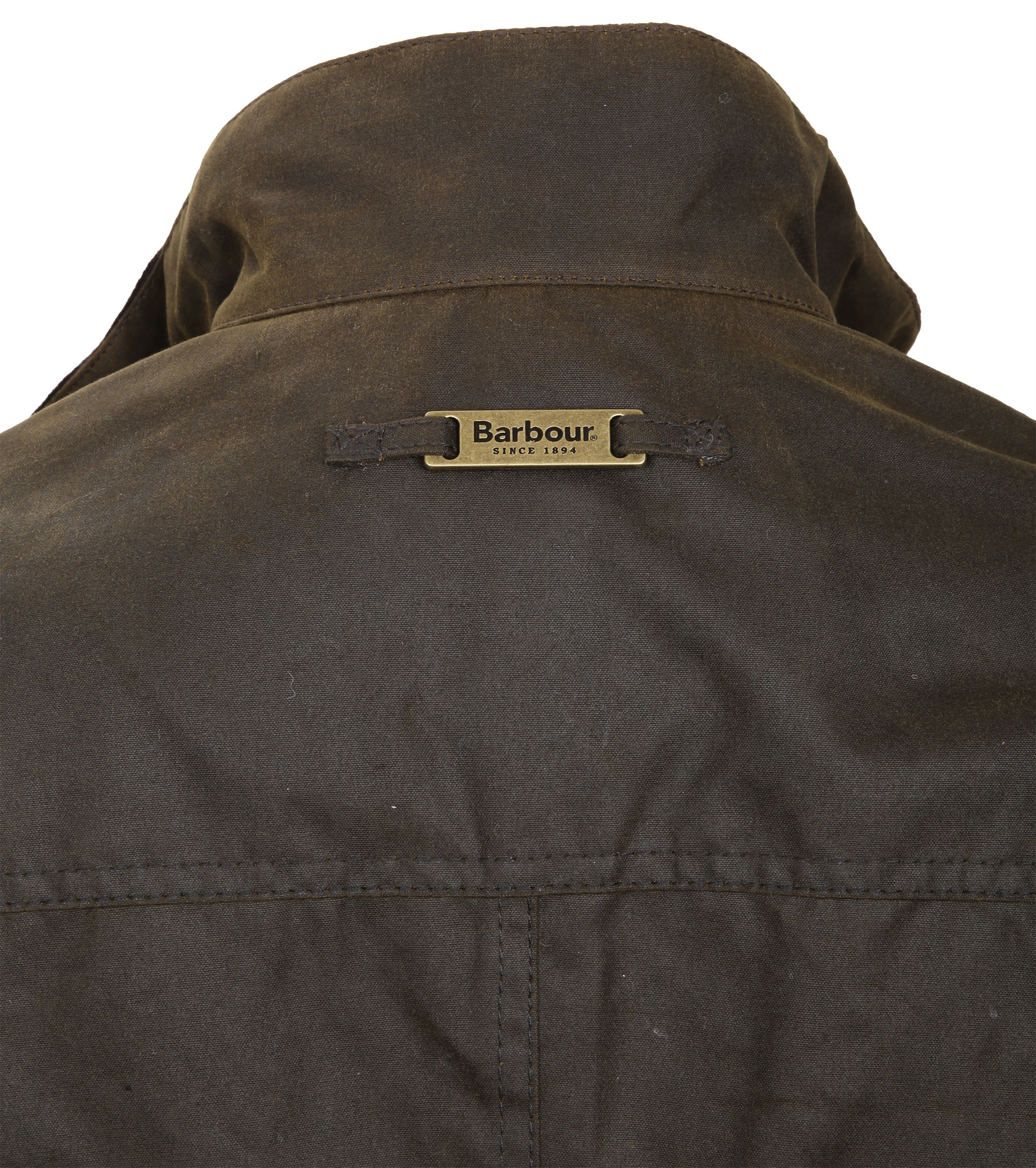 Barbour Waxjas Ogston Olive foto 7