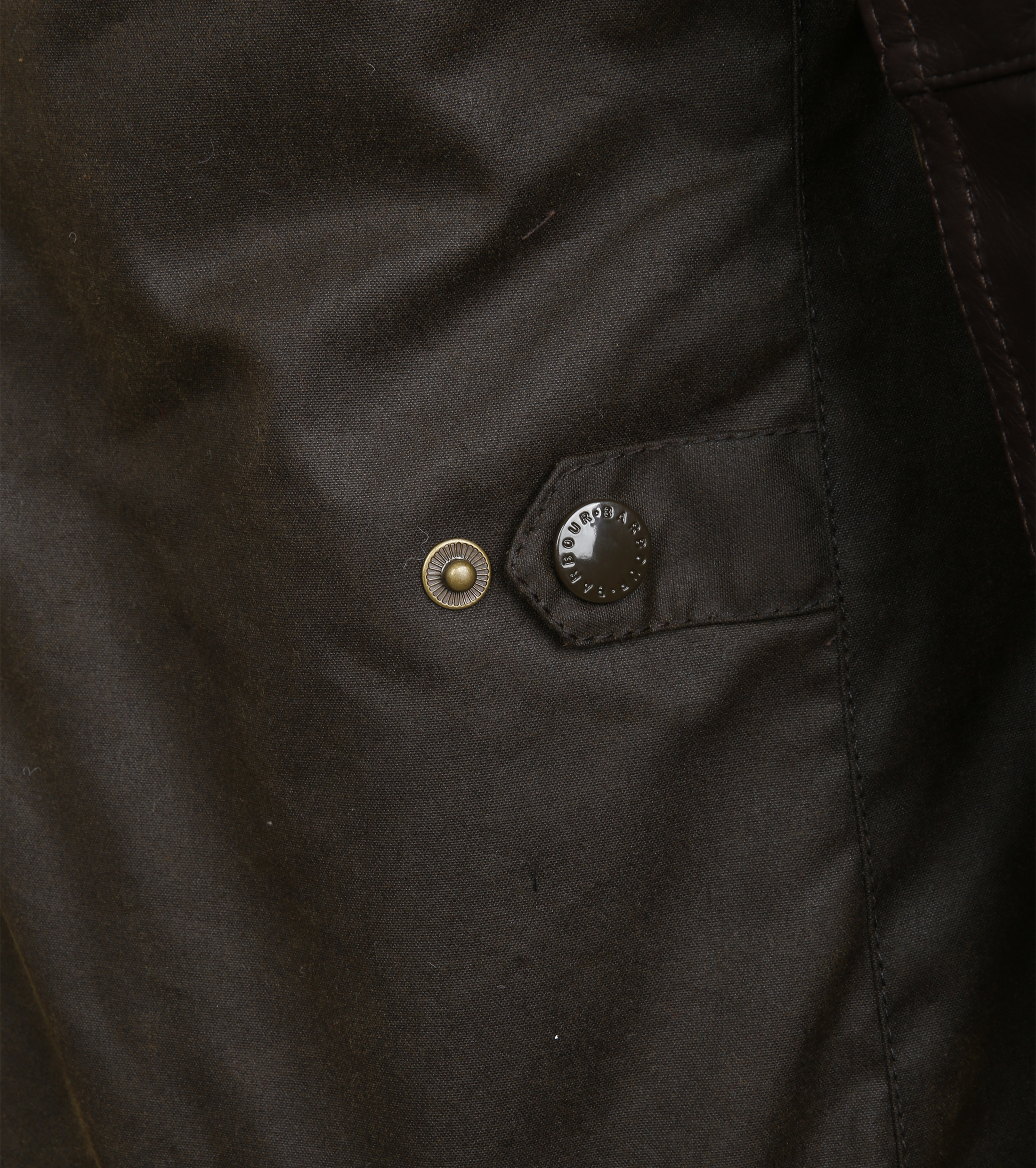 Barbour Waxjas Ogston Olive foto 8