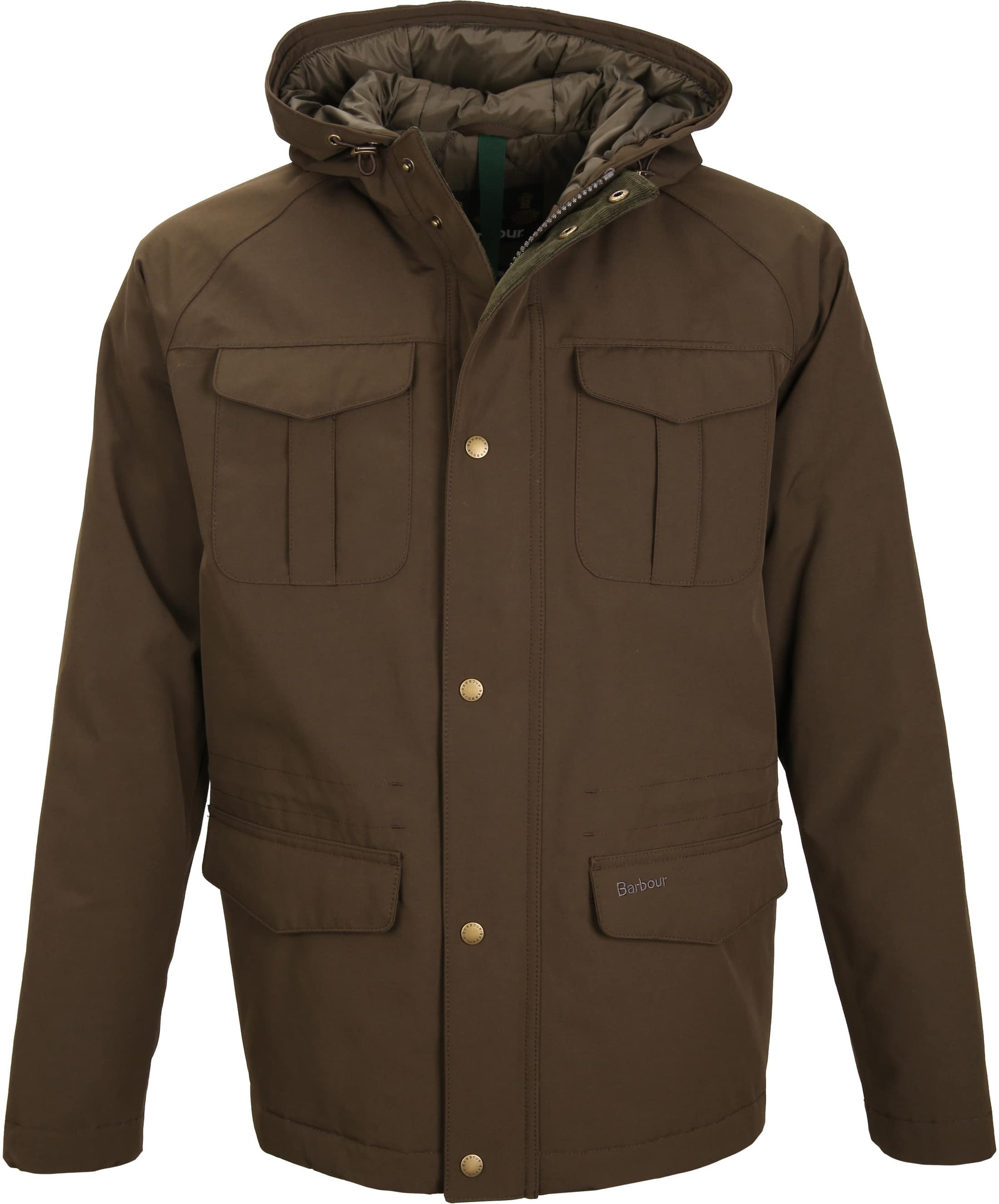 Barbour Whitstable Jacke Oliv foto 0